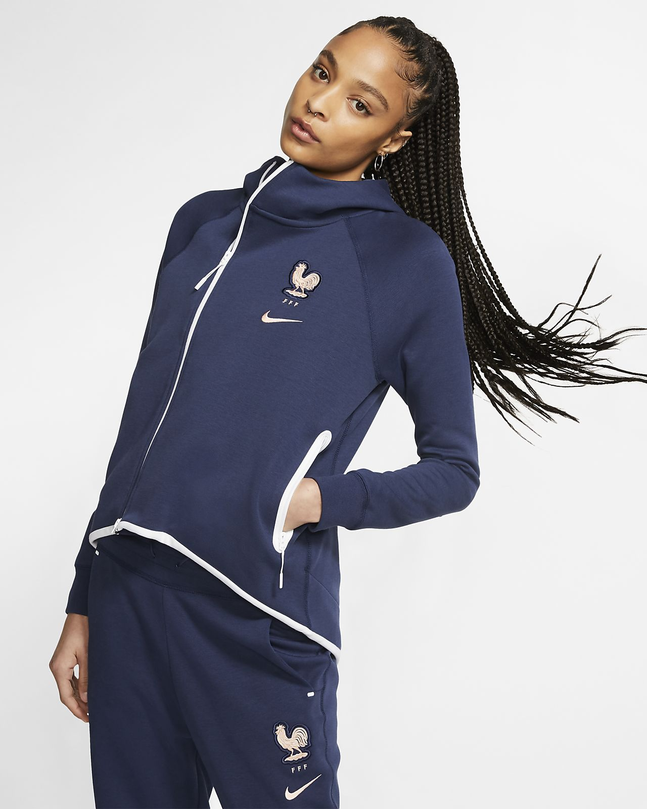 FFF Tech Fleece Voetbalvest voor dames