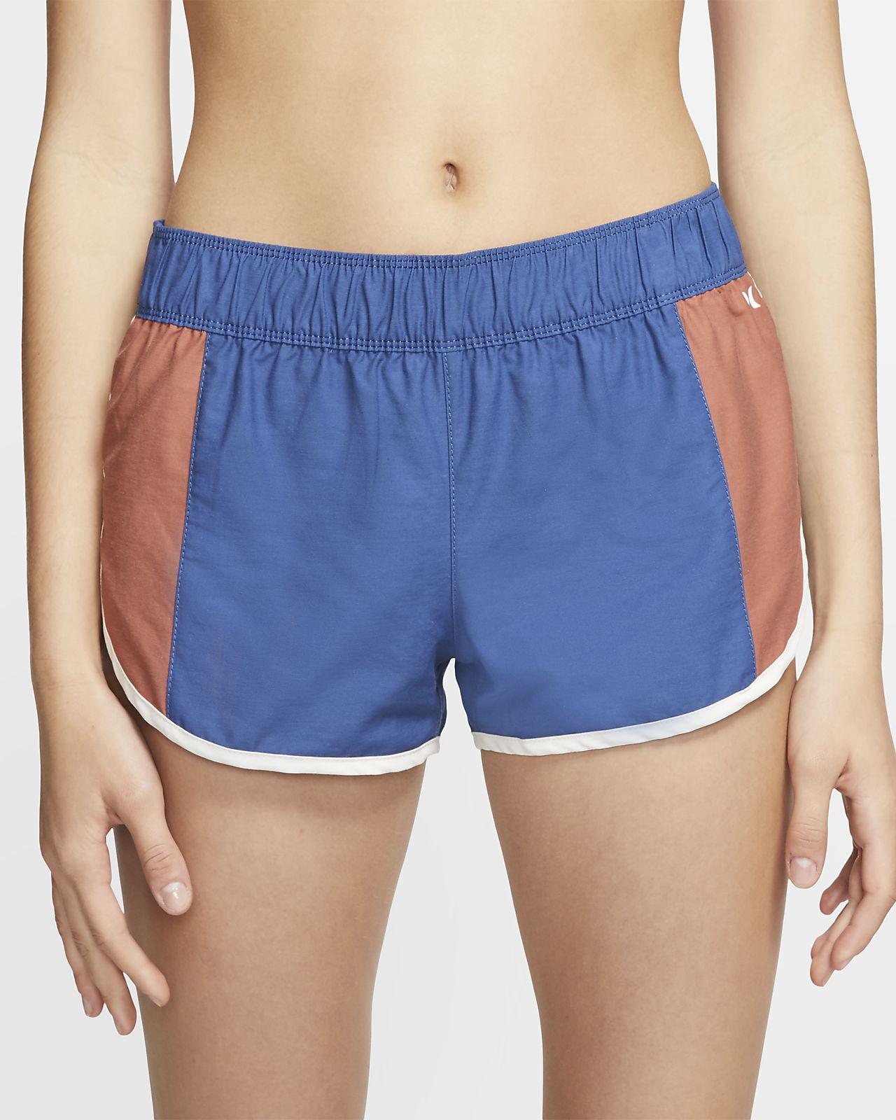 Shorts de playa para mujer Hurley Maritime
