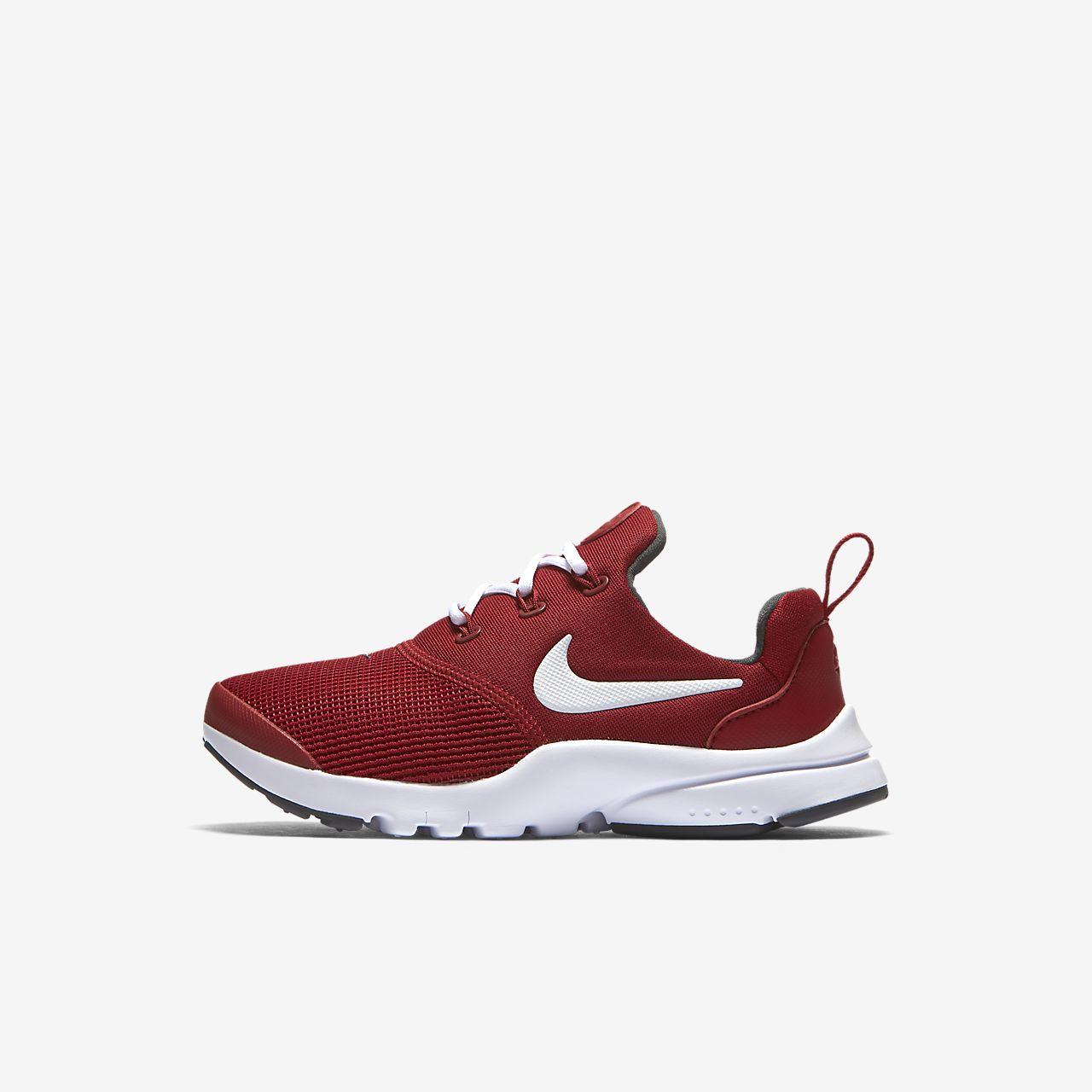 Nike Sportswear PRESTO FLY SE - Trainers - gym red/white 4UX586
