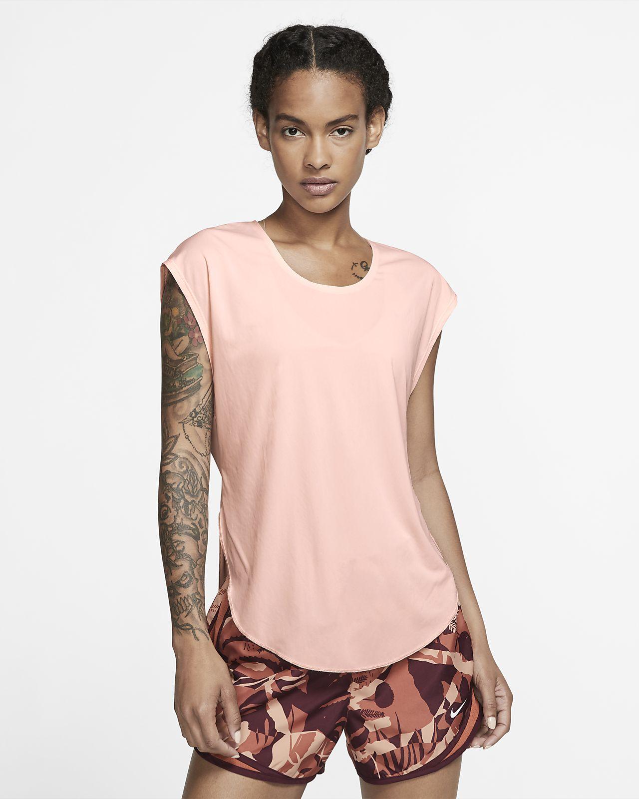 Γυναικεία μπλούζα για τρέξιμο Nike City Sleek