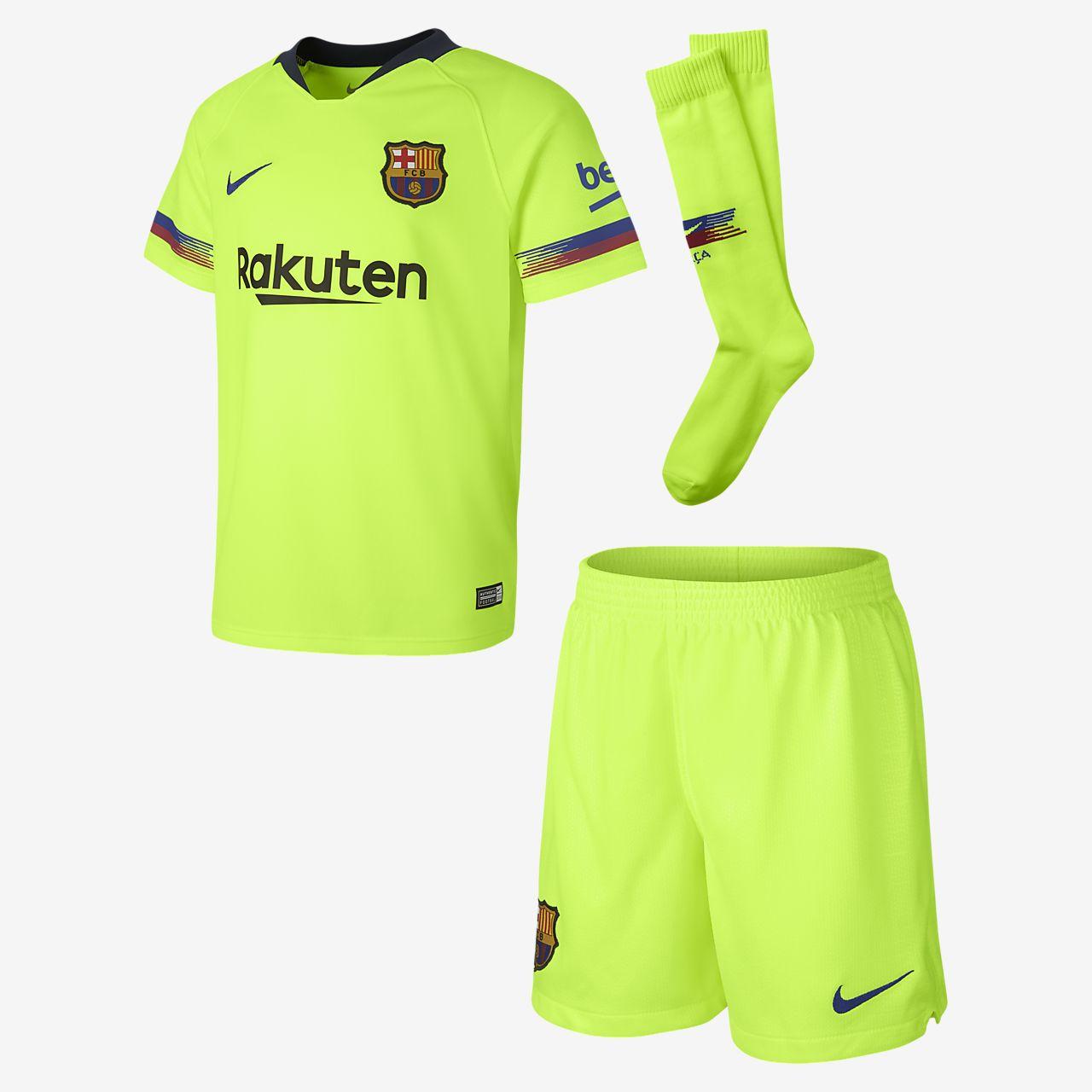 Ποδοσφαιρικό σετ 2018/19 FC Barcelona Stadium Away για μικρά παιδιά