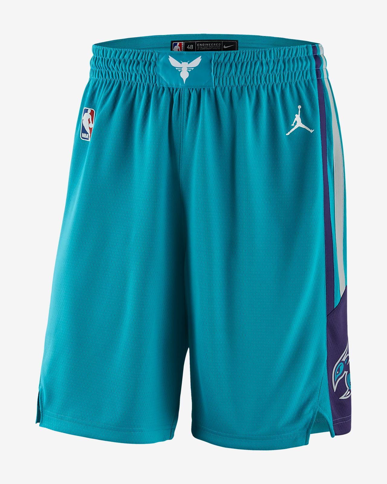 Мужские шорты Jordan НБА Charlotte Hornets Icon Edition Swingman ... 64c30a3515a