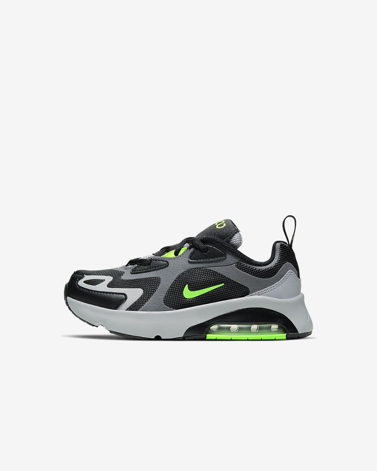 zapatillas niño nike air max verde