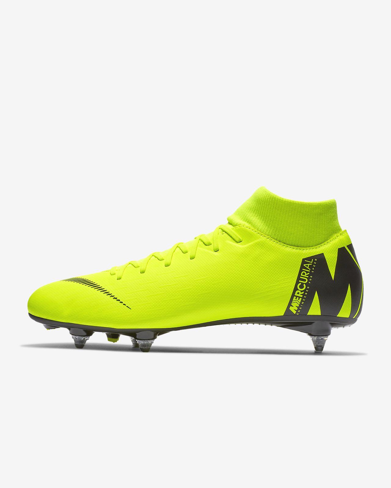 3ad7afe98c58 Футбольные бутсы для игры на мягком грунте Nike Mercurial Superfly VI  Academy SG-PRO