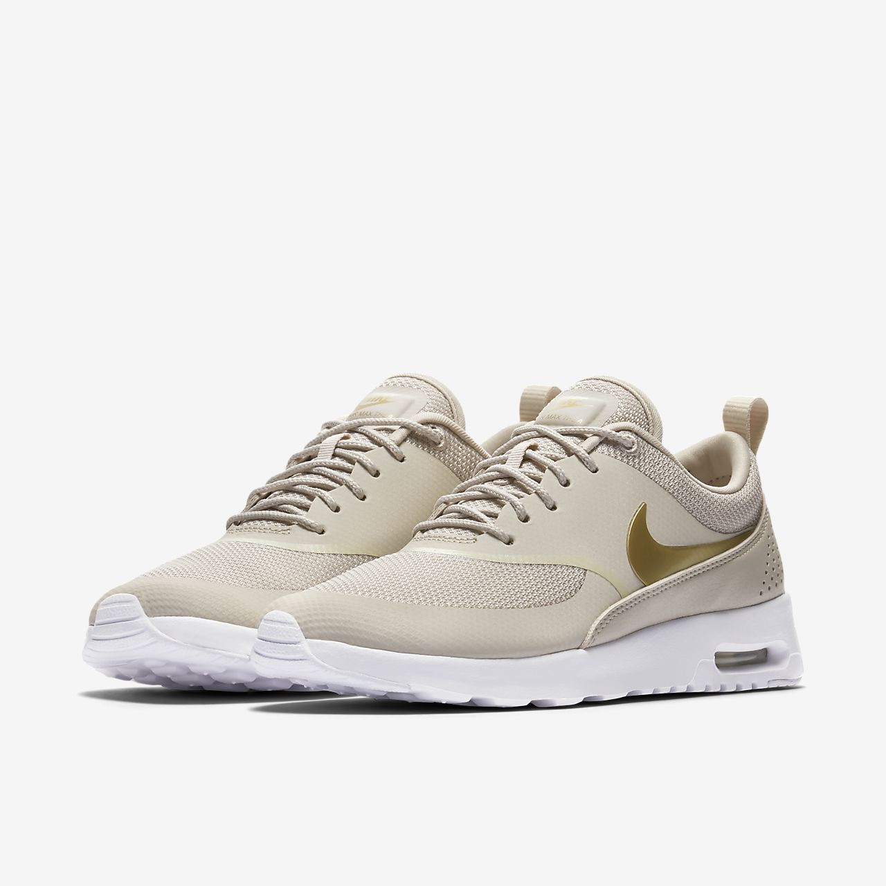 nike air max thea sand colour textile