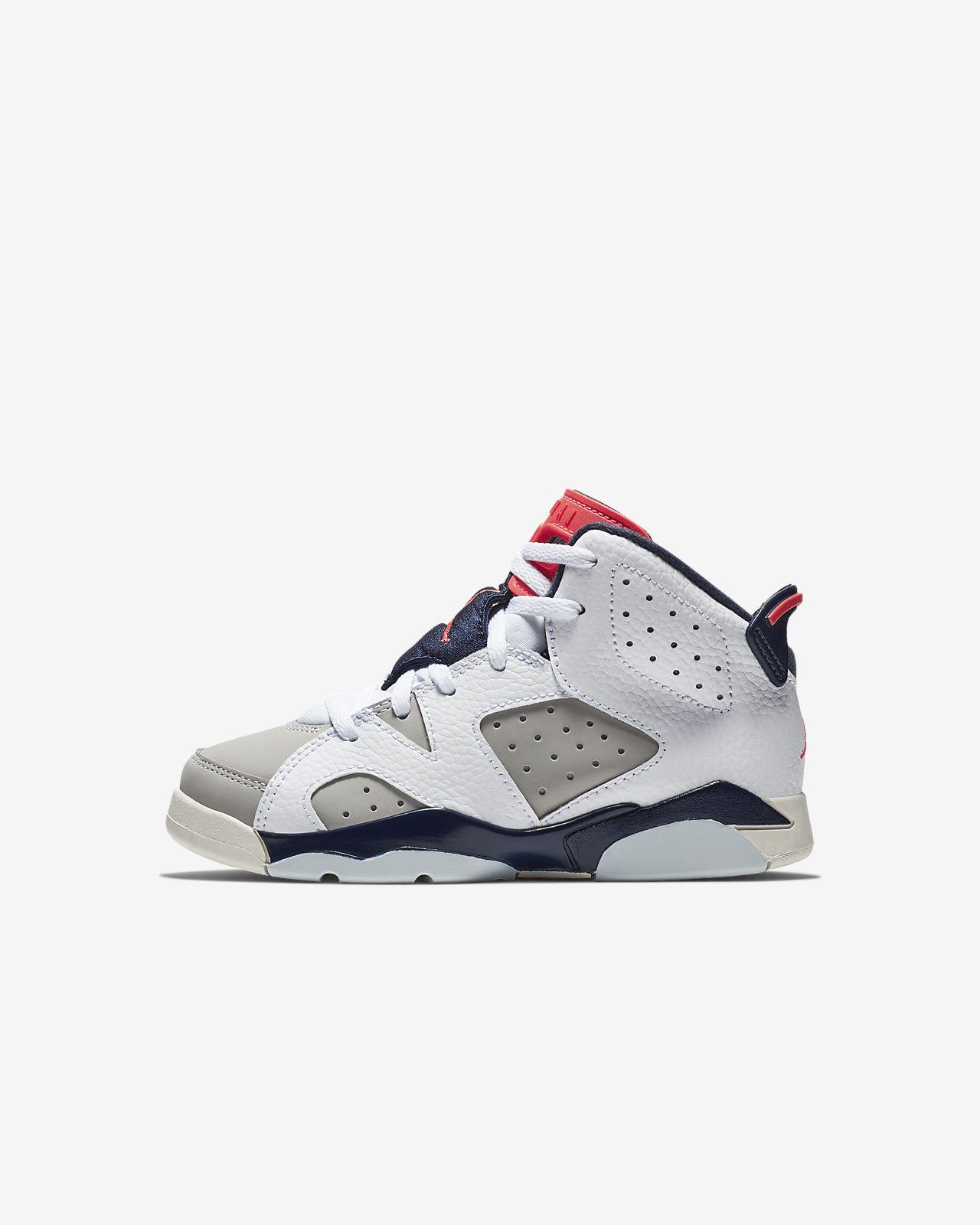 รองเท้าเด็กเล็ก Air Jordan Retro 6 (10.5C-3Y)