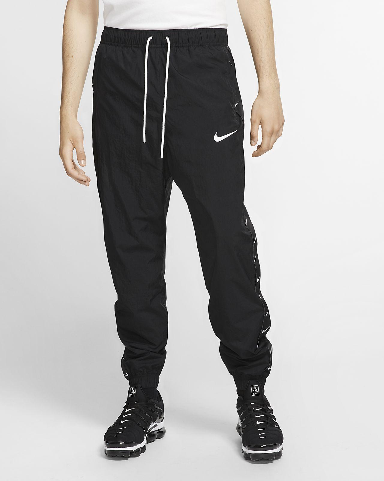 กางเกงผู้ชายแบบทอ Nike Sportswear Swoosh