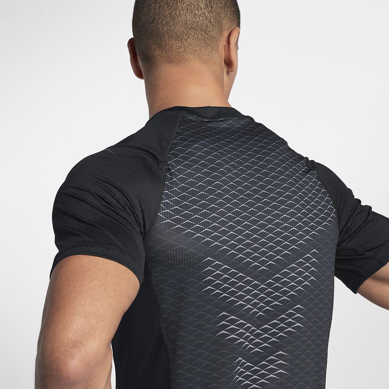 Nike Pro Hypercool Kurzarm-Trainingsoberteil für Herren