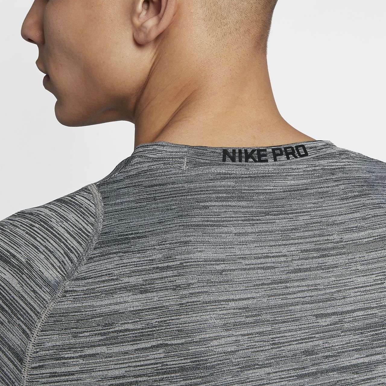 21c4d8fd Nike Pro Fitted Men's Long Sleeve Training Top. Nike.com