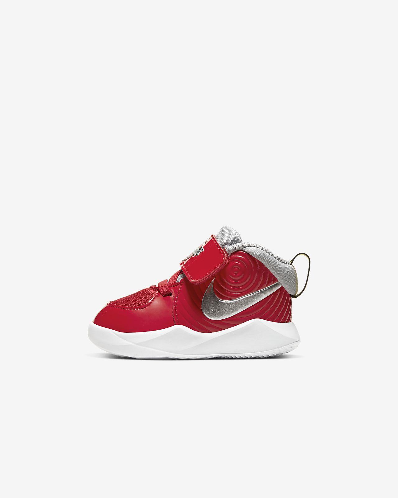 Buty dla maluchów Nike Team Hustle D 9 Auto