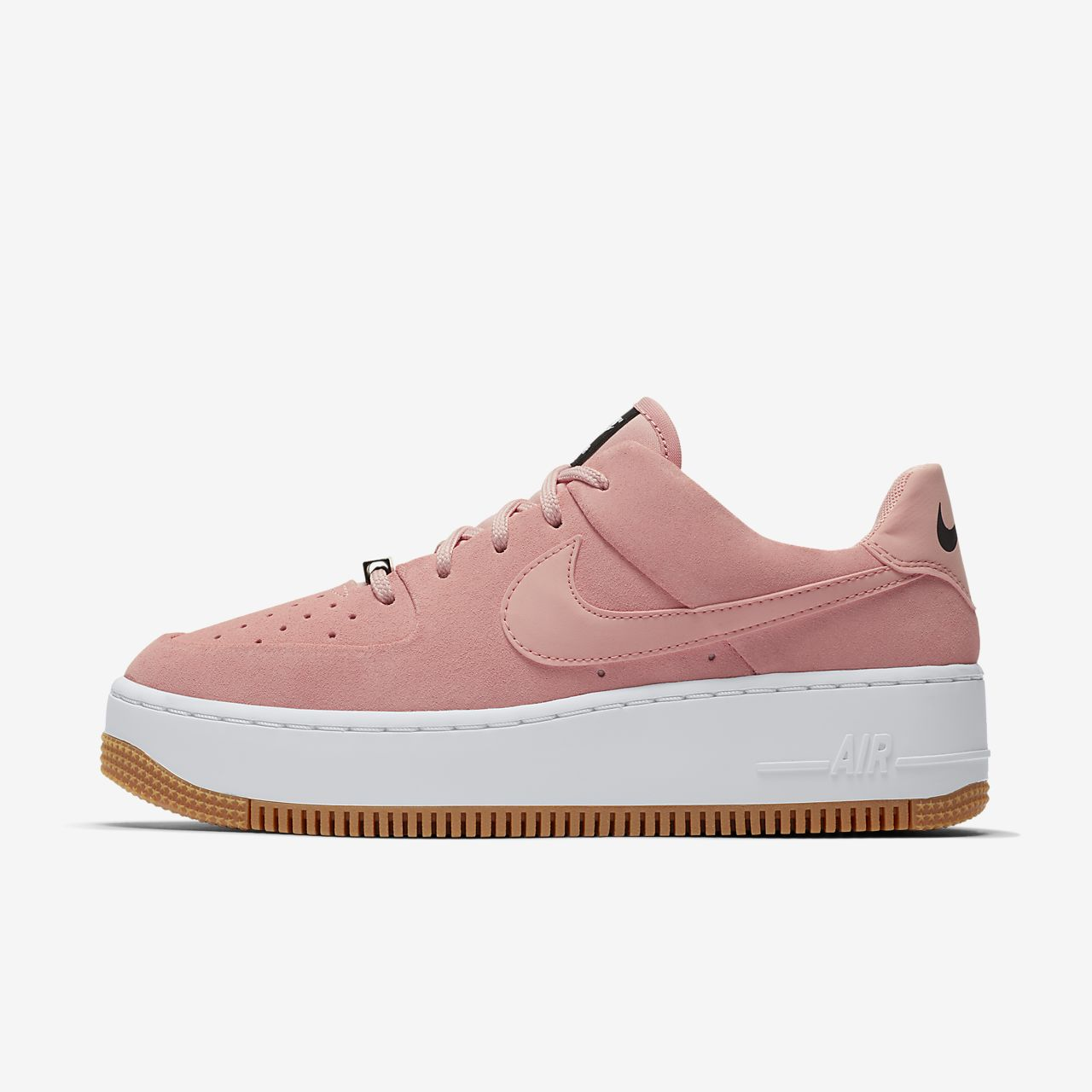 nike air force 1 rosa palo zapatos