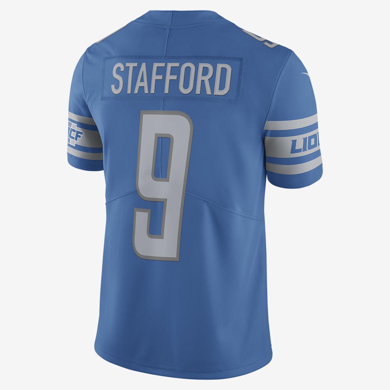 18e1aaf39 ... NFL Detroit Lions (Matthew Stafford) Men's Limited Vapor Untouchable  Football Jersey