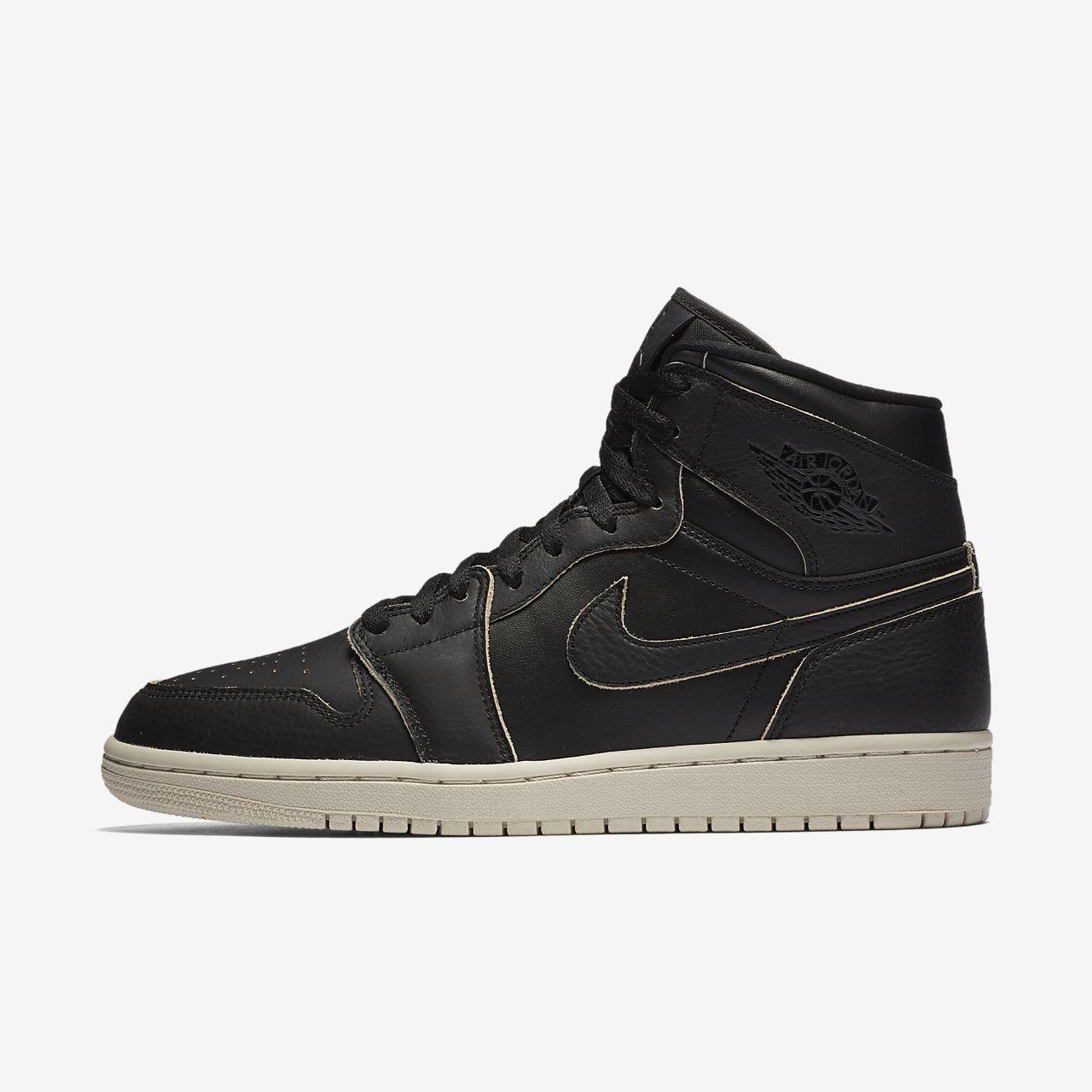 Nike Air Jordan 1 Mid Zapatos Baloncesto Zapatillas High Negro Top Negro High Gris e32e68