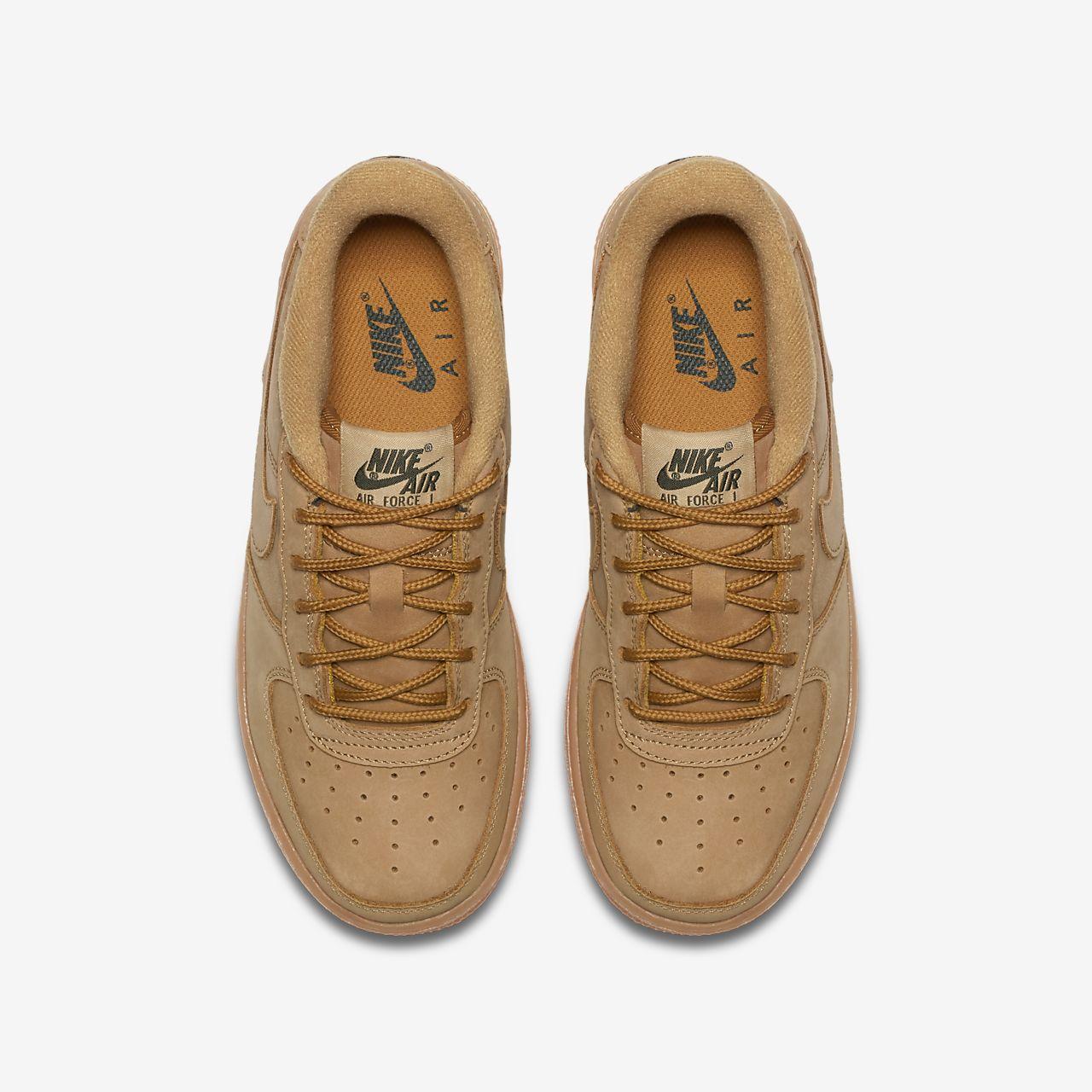 nike air force premium nike orange sneakers