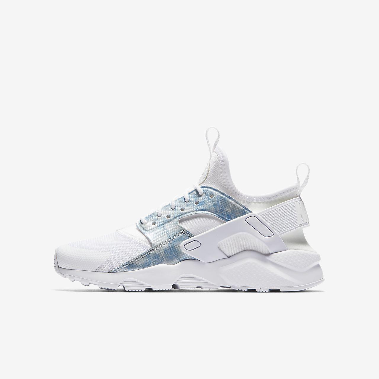 5b8ff72e7262 Chaussures Nike Air Huarache bleues Casual enfant 8gD6n - isolation ...