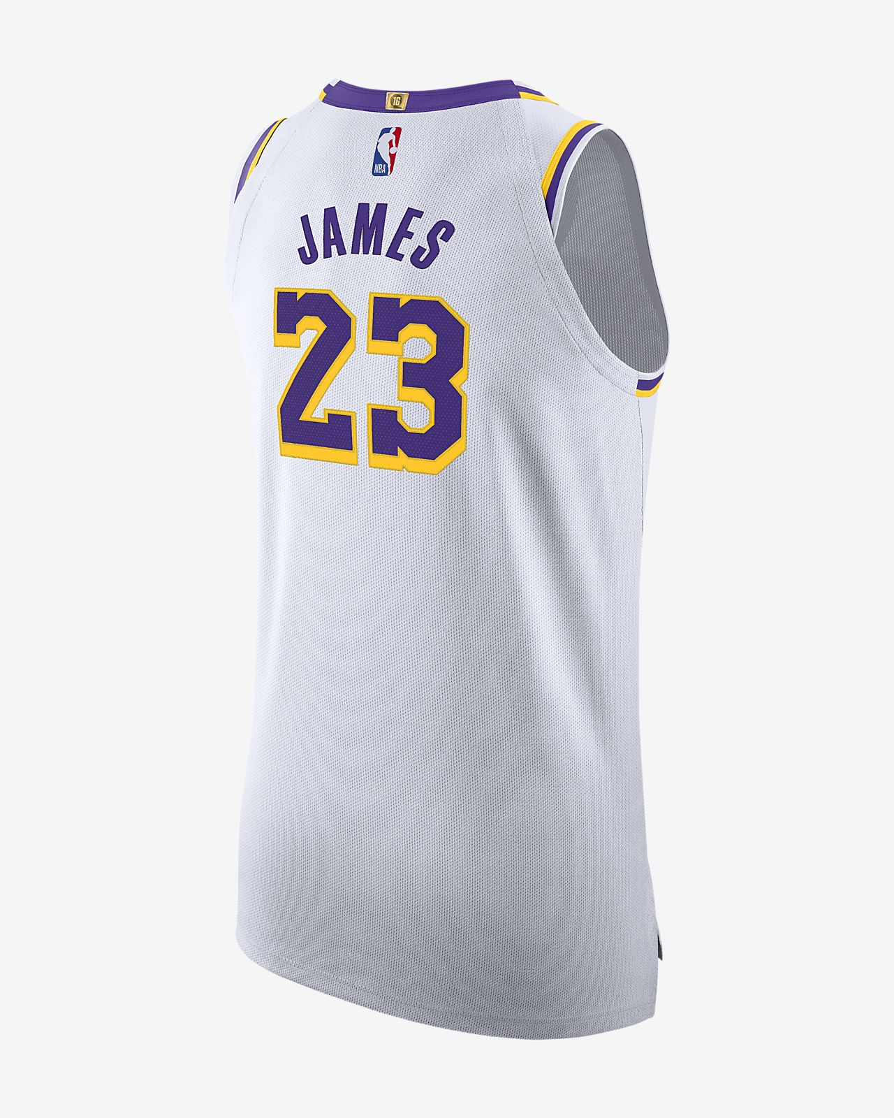 quality design dcbe1 f5474 LeBron James Association Edition Authentic (Los Angeles Lakers) Men's Nike  NBA Connected Jersey