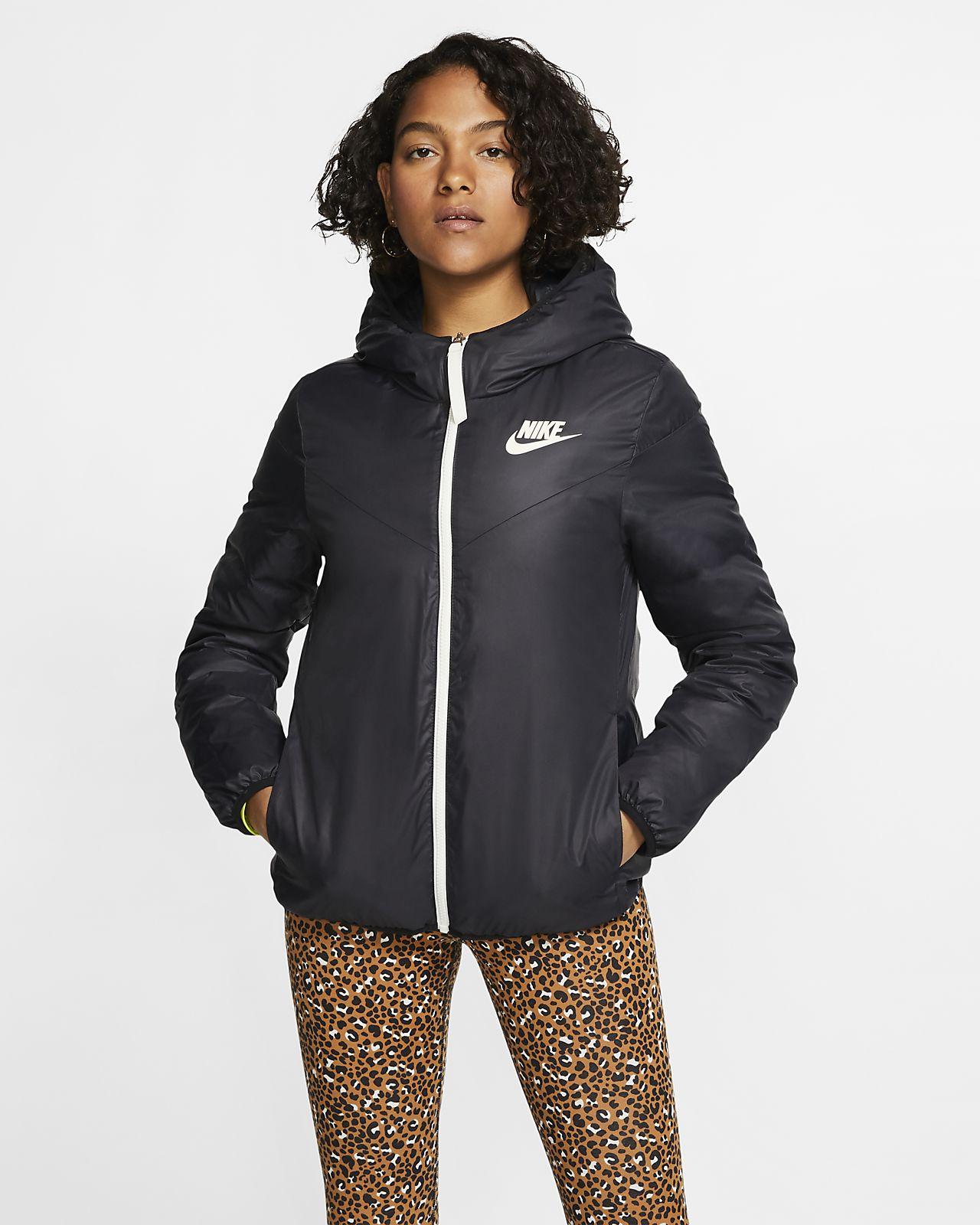 Windrunner Nike Down Jacket Fill Reversible Sportswear Women's VzqSGULMp