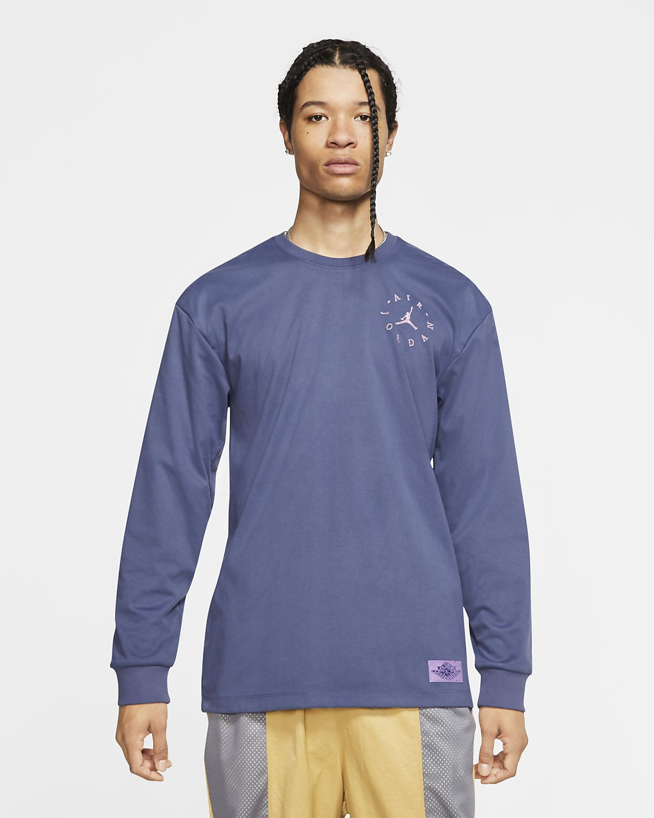 Jordan Remastered Men's Sueded Long-Sleeve Top