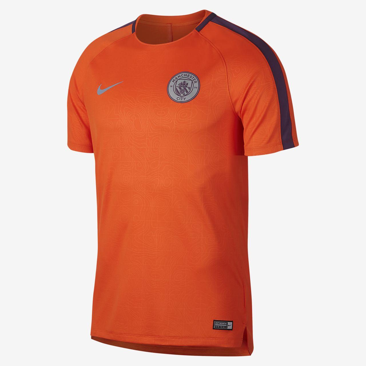 Manchester City FC Dri-FIT Squad Men's Football Top