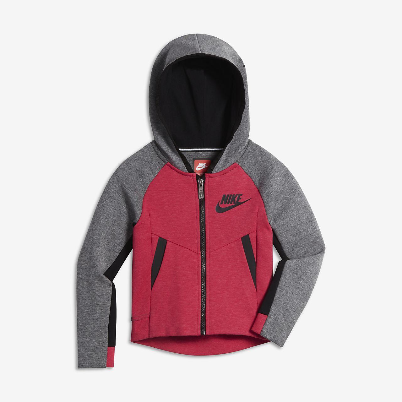 7256032524c6 Nike Sportswear Tech Fleece Younger Kids  (Girls ) Hoodie. Nike.com FI