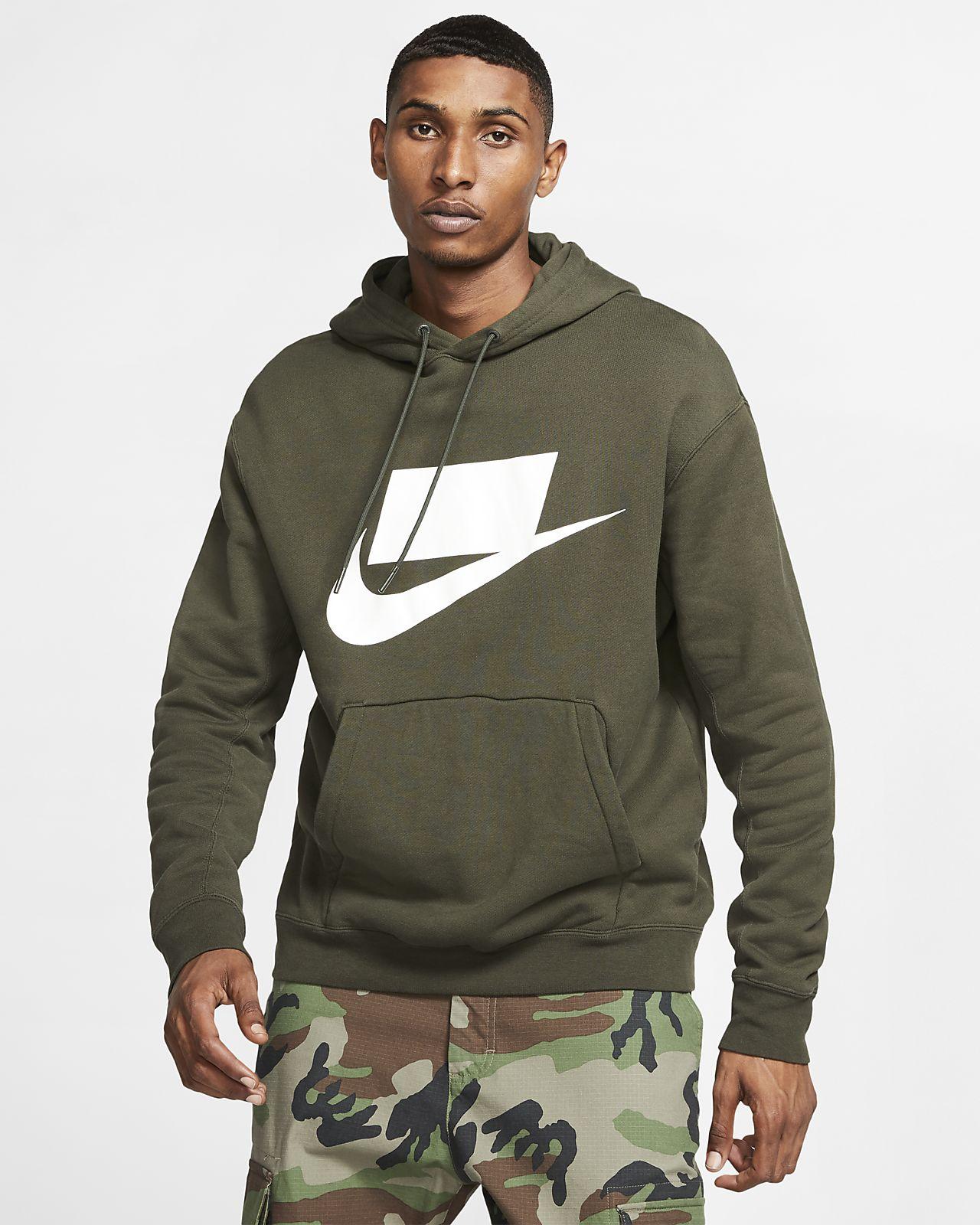 Μπλούζα με κουκούλα από ύφασμα French Terry Nike Sportswear NSW