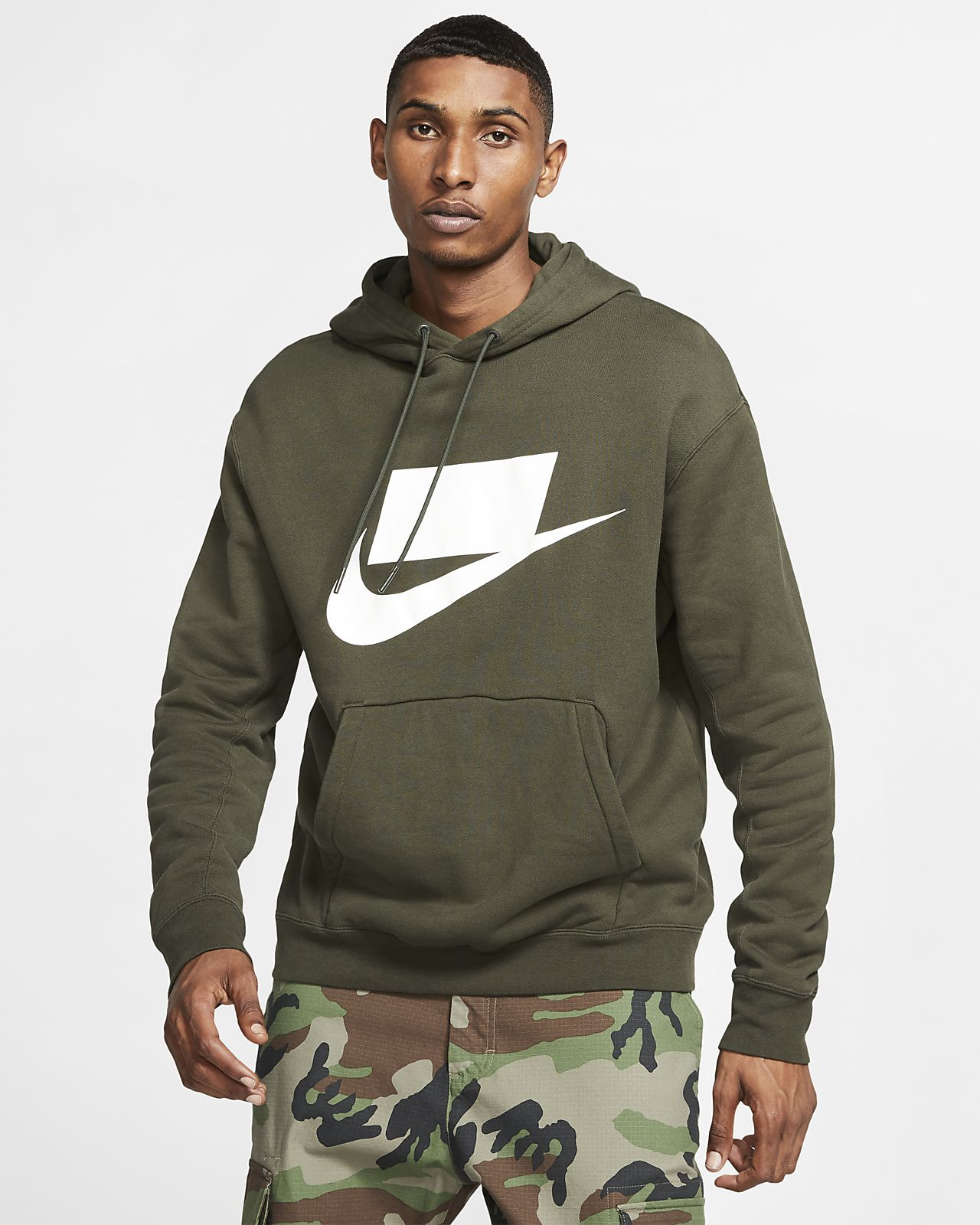 Type Hoodies Nike NSW Loose Fit Fleece Hoodie