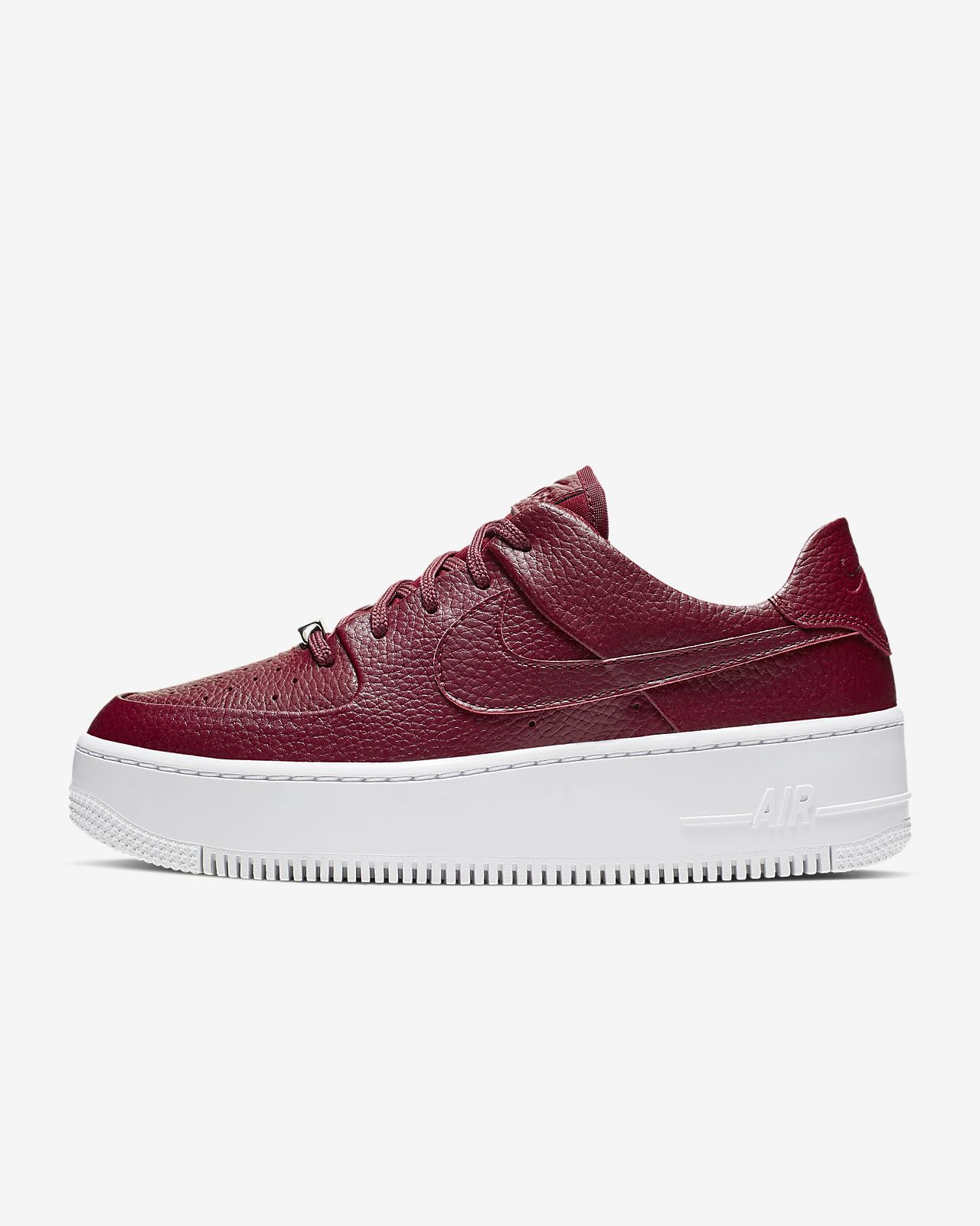 basket nike air one rouge femme