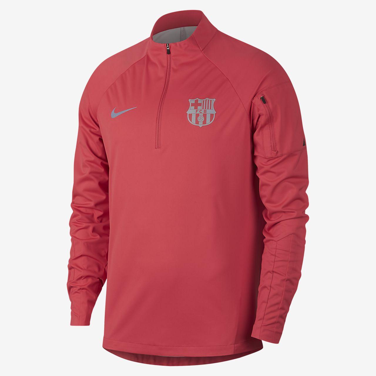 bce2db565 FC Barcelona Shield Squad Men s Football Drill Top. Nike.com GB