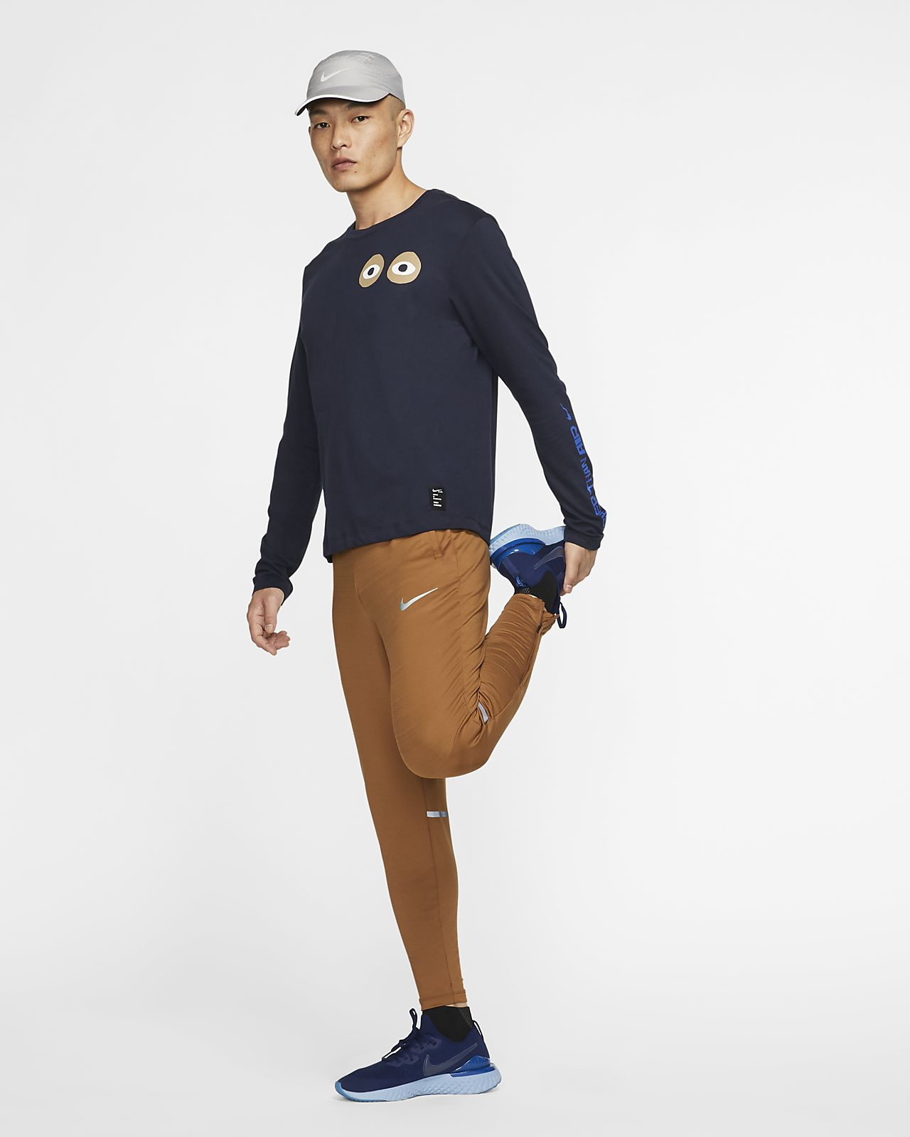 Nike Dri FIT A.I.R. Cody Hudson Langarm T Shirt für Herren