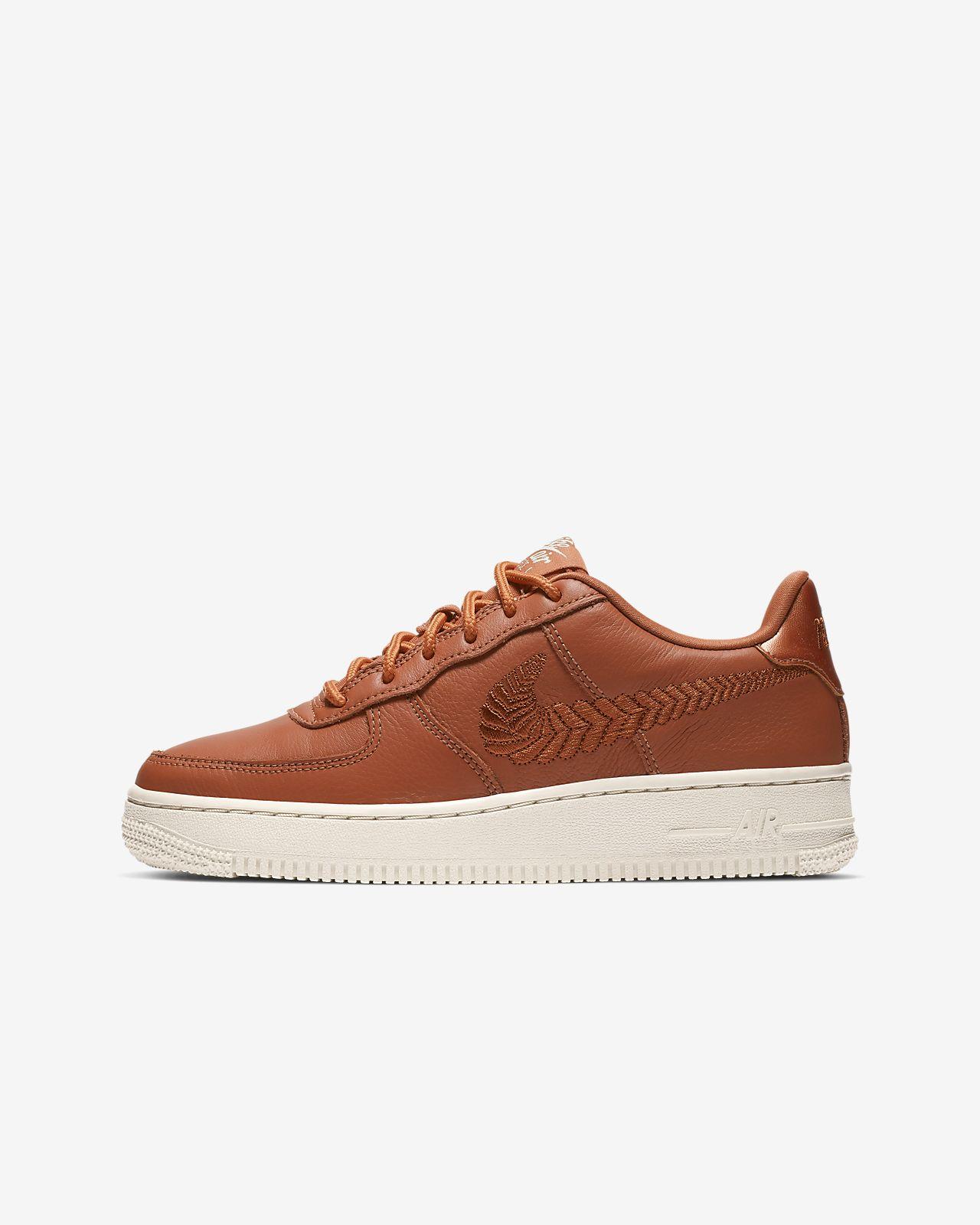 Nike Air Force 1 Premium Embroidered-sko til store børn