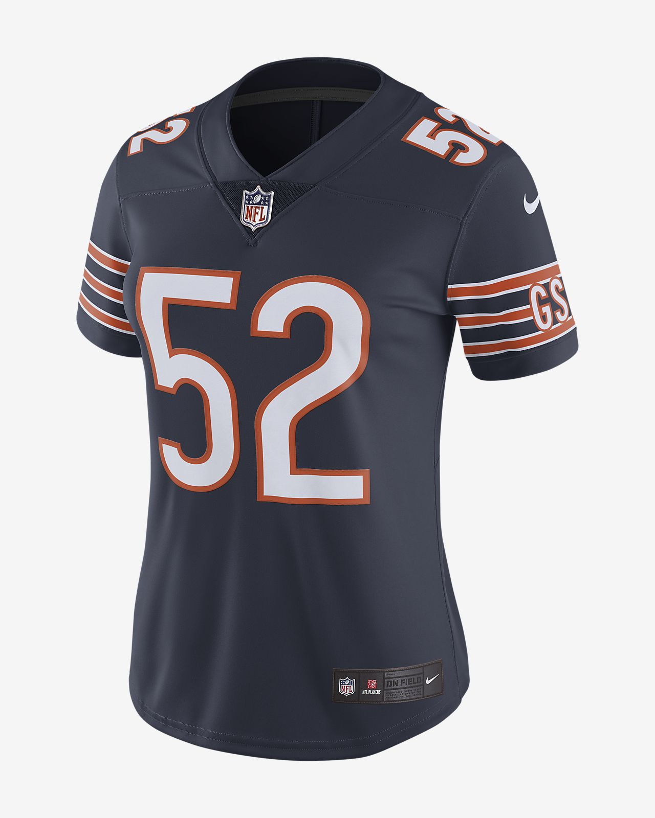 new style c3546 b6778 NFL Chicago Bears Limited (Khalil Mack) Women's Football Jersey