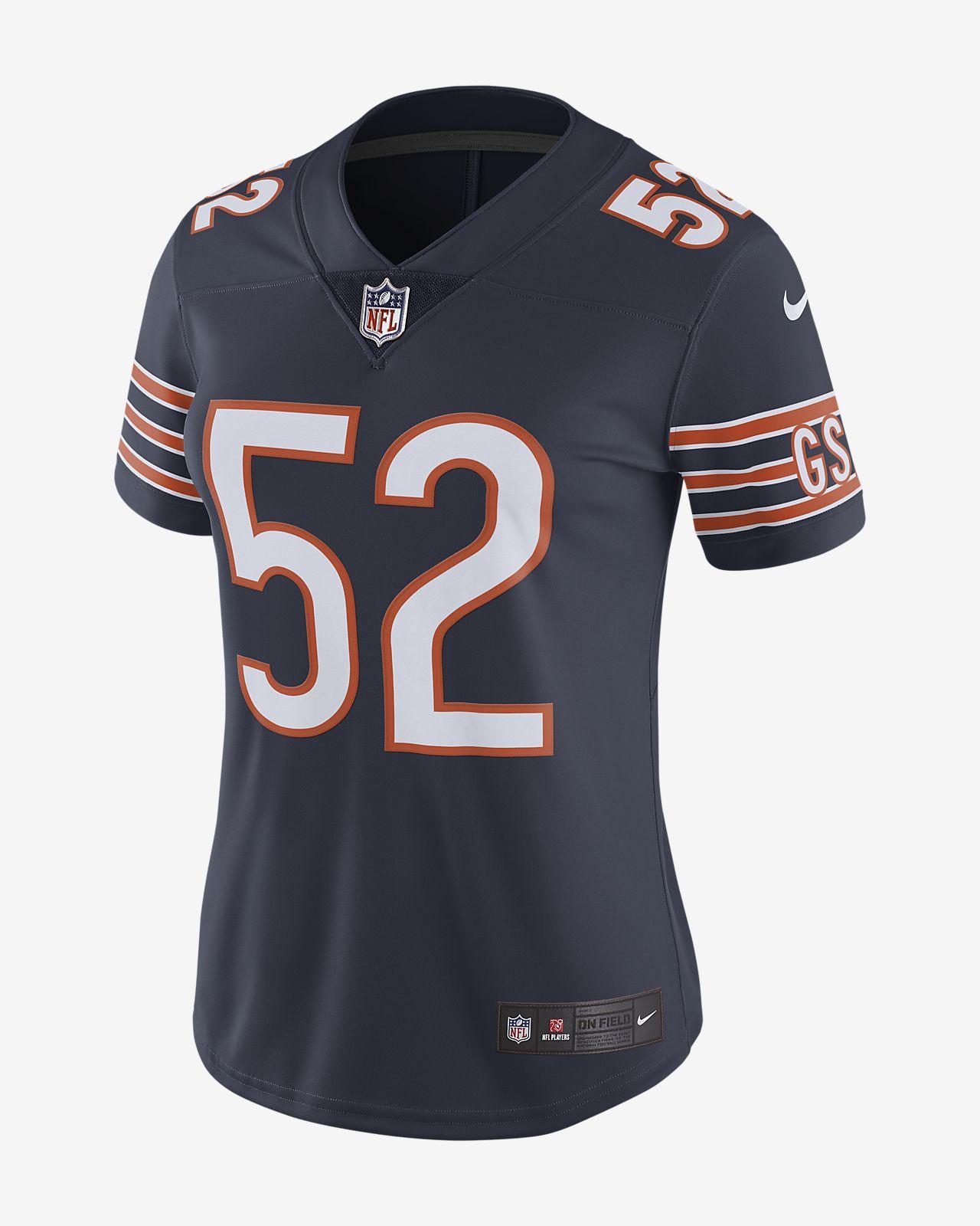 new style b18f1 d2e65 NFL Chicago Bears Limited (Khalil Mack) Women's Football Jersey