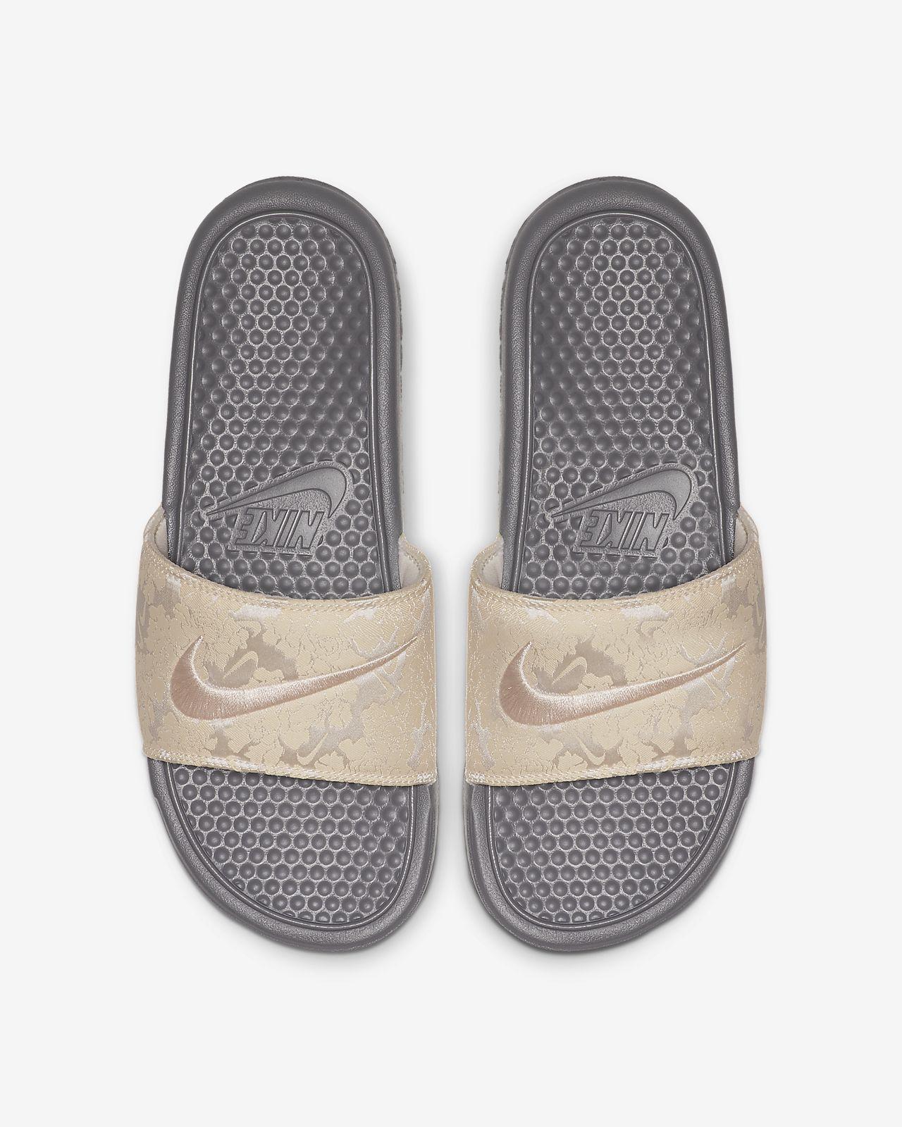 Nike Benassi JDI TXT SE damesandal