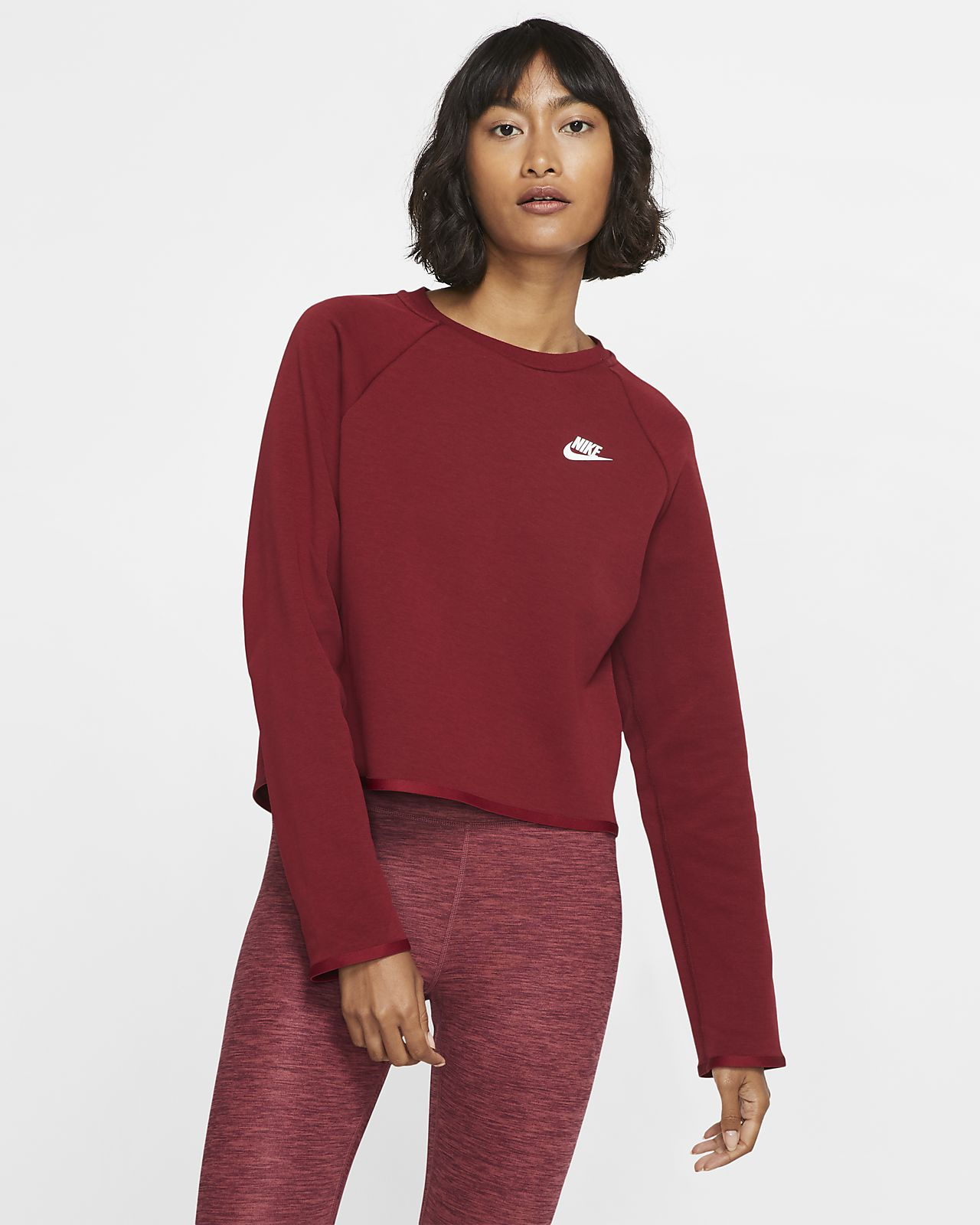 Nike Sportswear Tech Fleece Damen-Rundhalsshirt