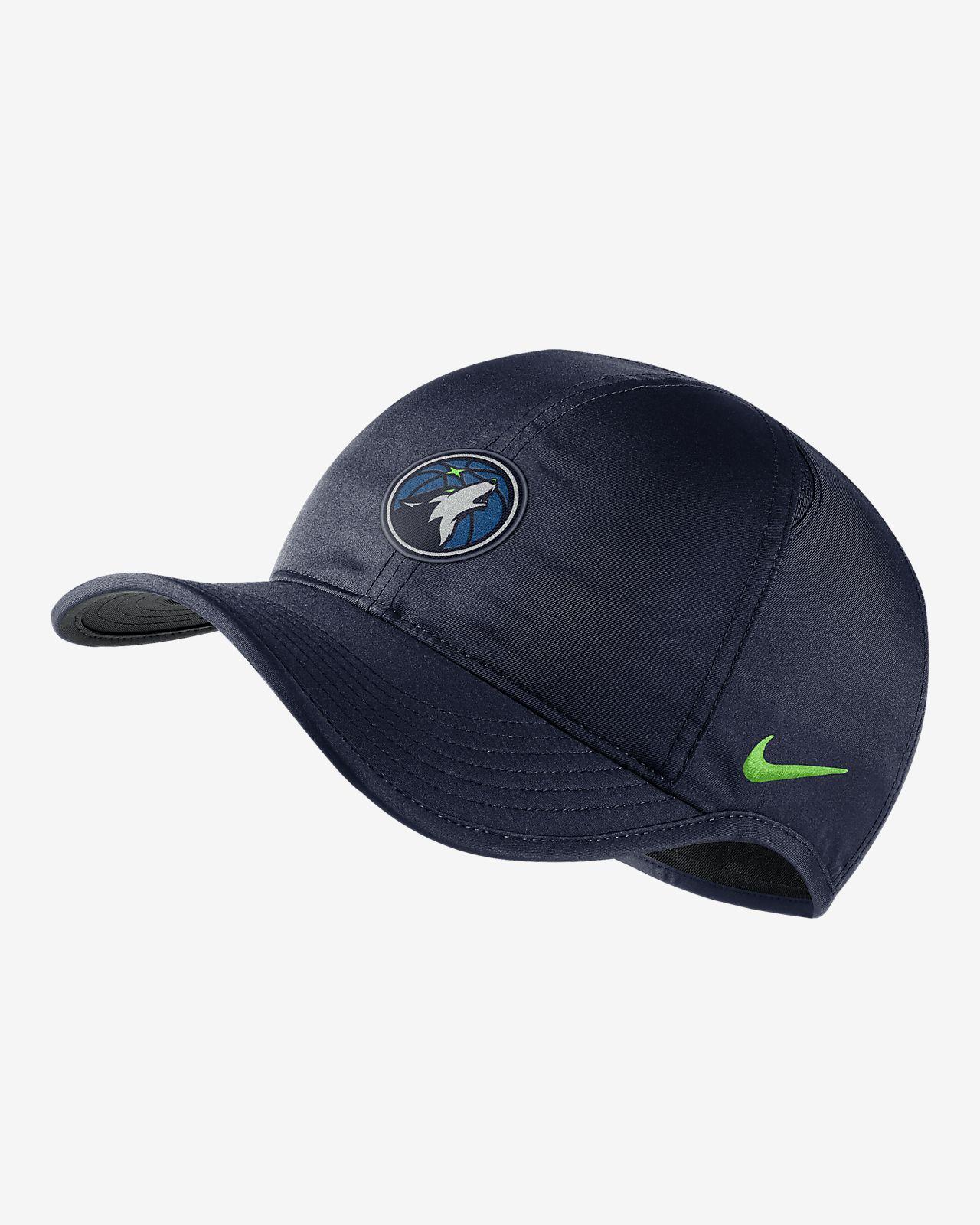 5e40e473034f Minnesota Timberwolves Nike AeroBill Featherlight NBA Hat. Nike.com