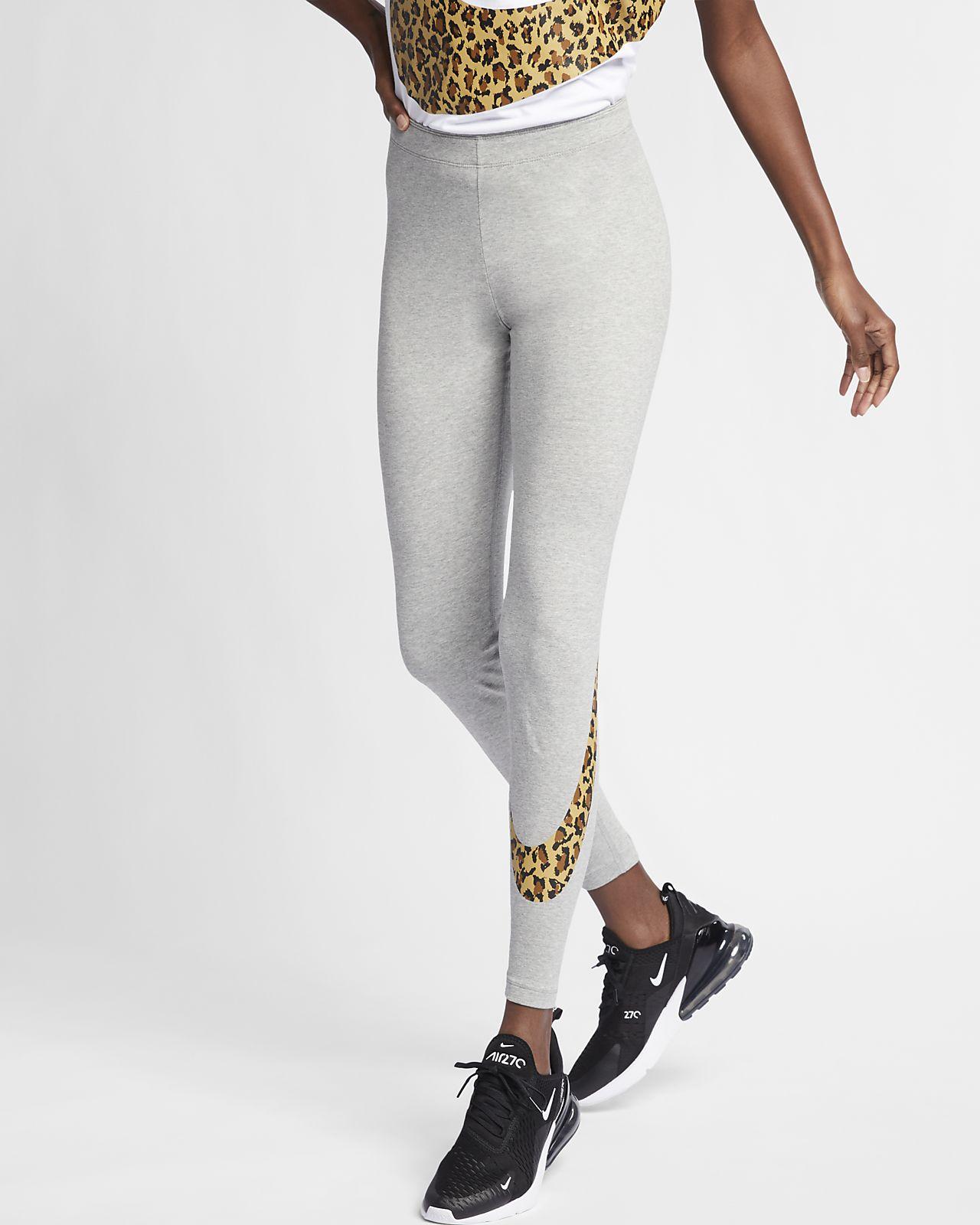 Nike Sportswear-leggings med dyreprint til kvinder