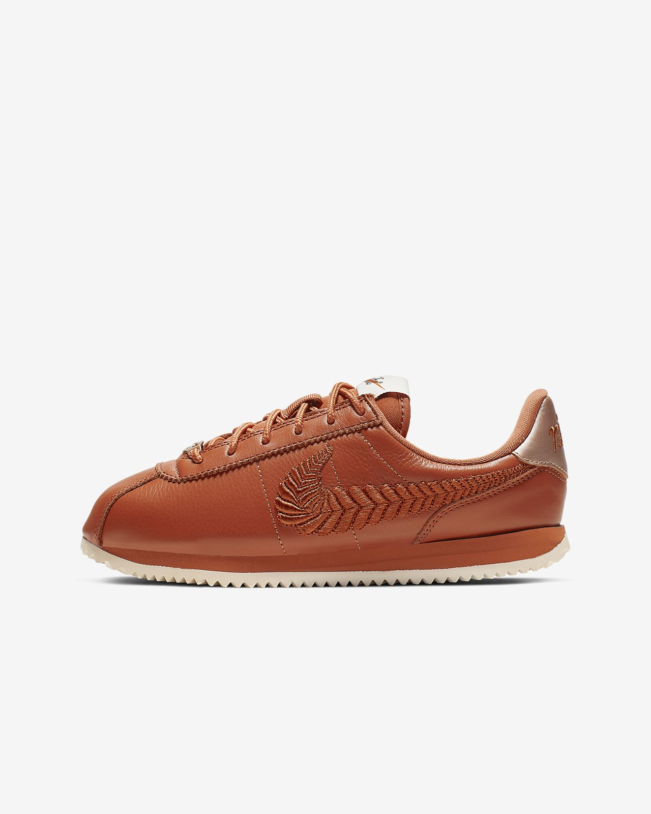 Nike Cortez Basic Premium Embroidered Older Kids' Shoe