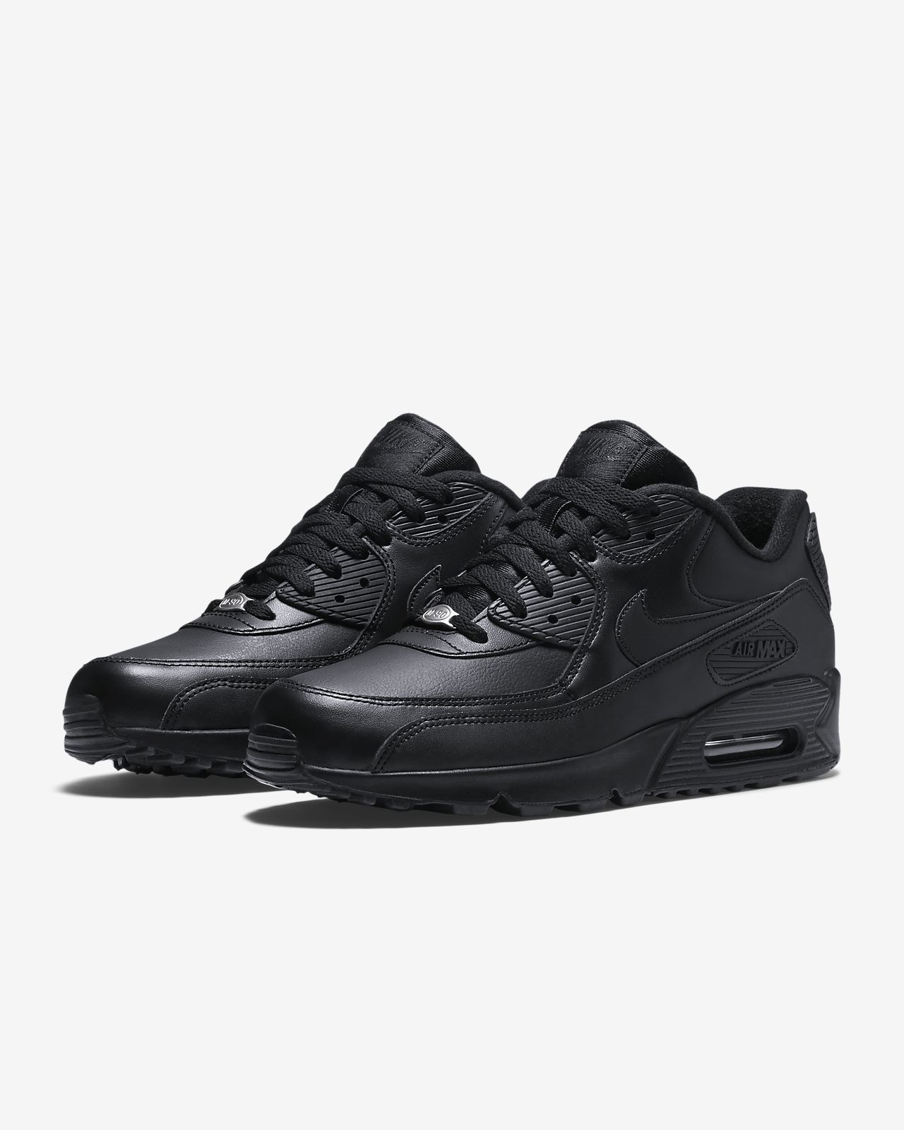 Nike Air Max 90 Leather noire