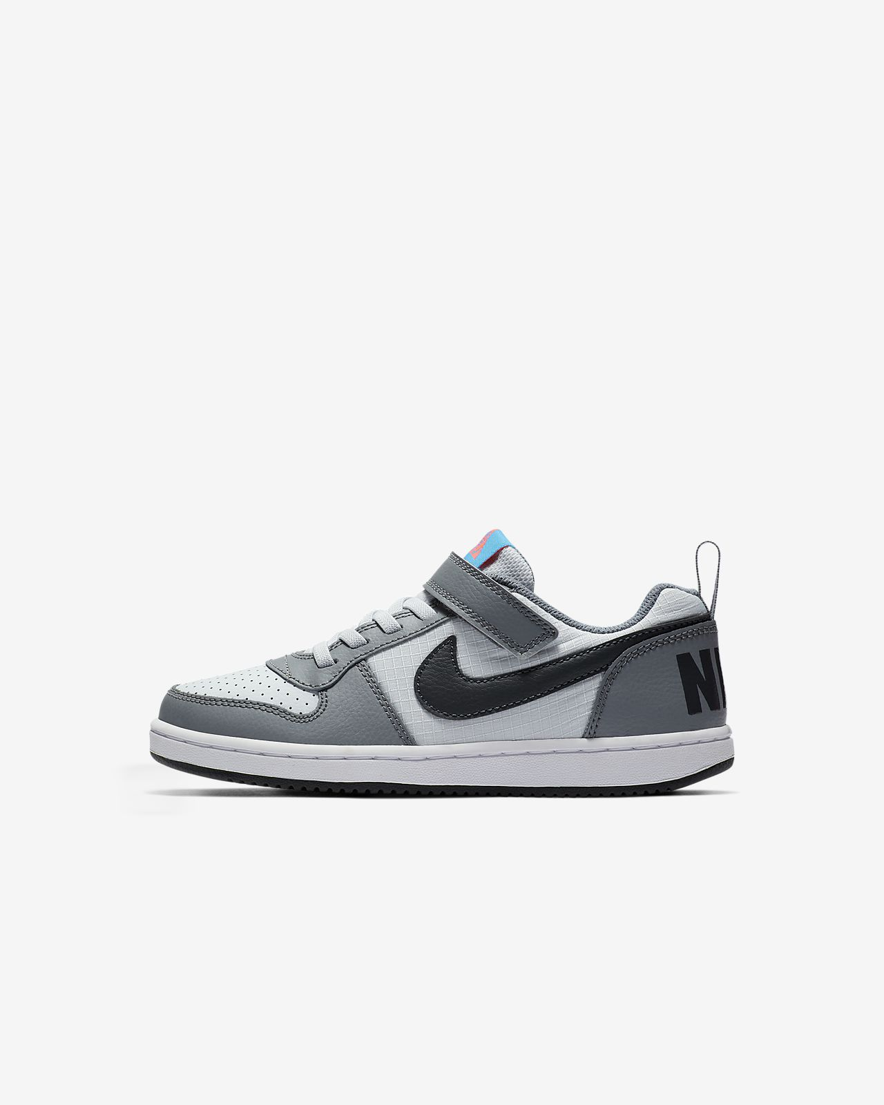 nike court borough low femme noir