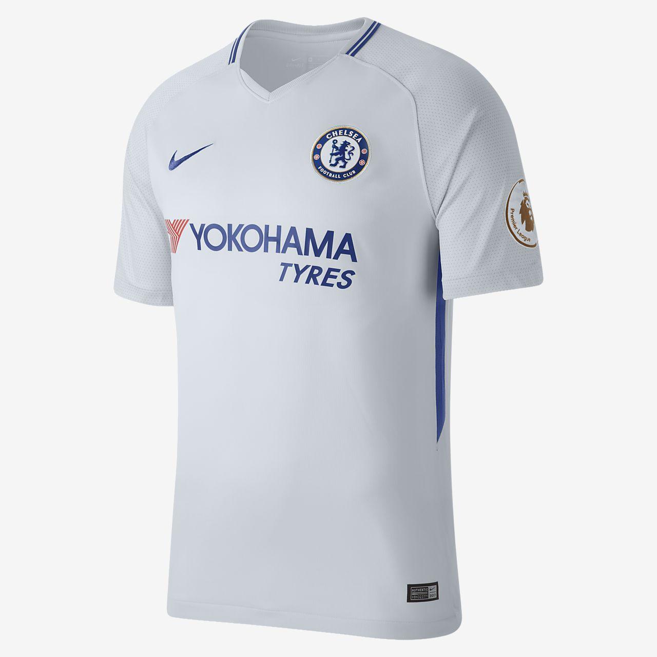 2017/18 Chelsea FC Stadium Away (Álvaro Morata) Men's Football Shirt