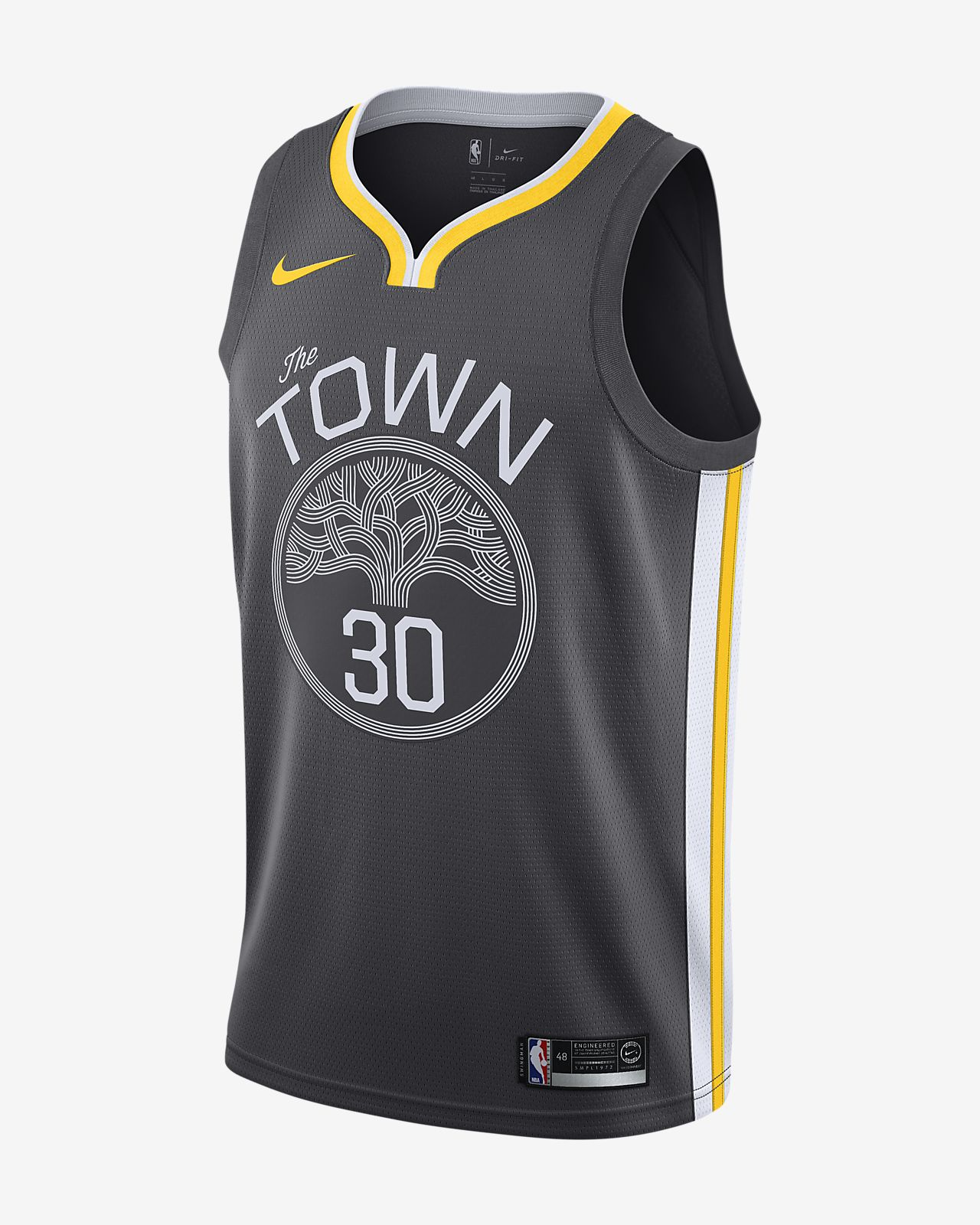 Stephen Curry Statement Edition Swingman (Golden State Warriors) Samarreta Nike NBA Connected - Home