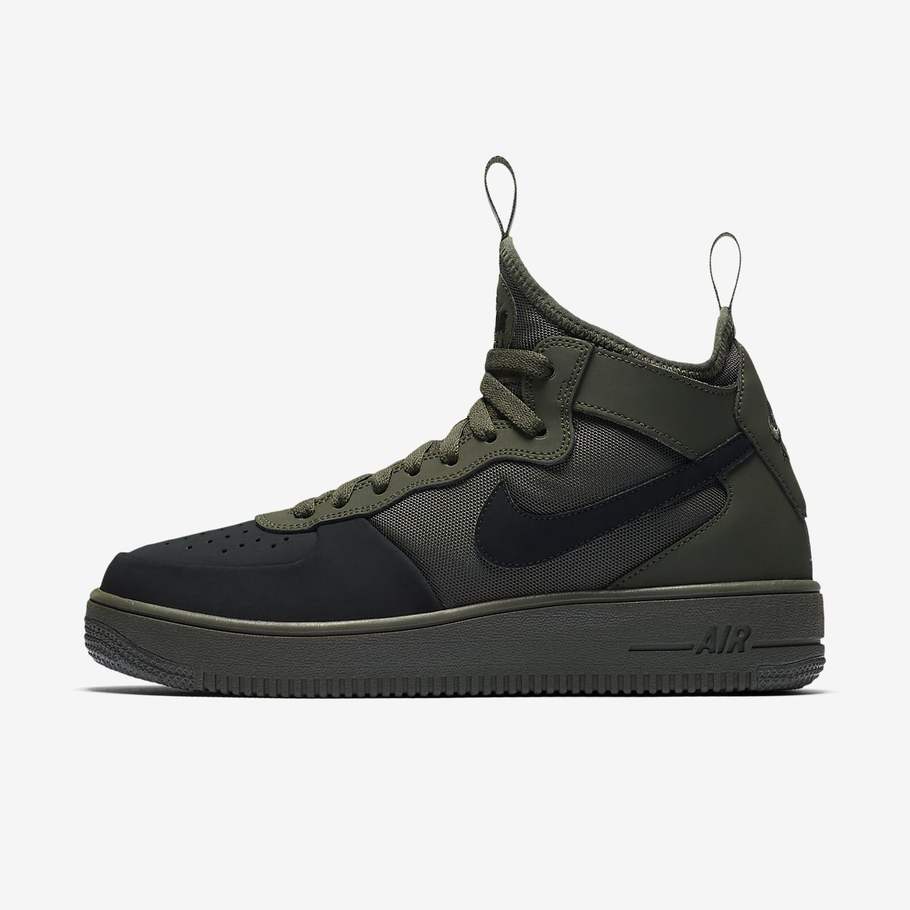 nike air force 1 mid sole technology