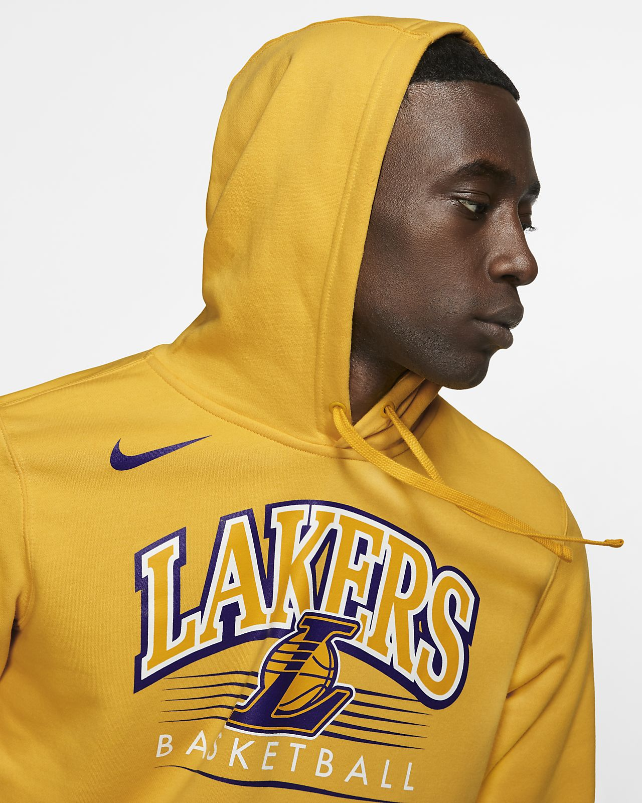 ffef08571 Los Angeles Lakers Nike Men s NBA Hoodie. Nike.com CA