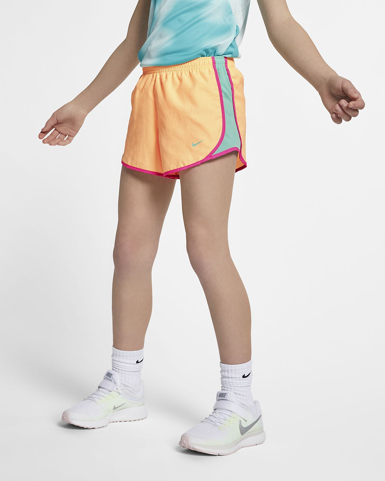 dd87f56a4b3 Nike Dri-FIT Tempo Big Kids  (Girls ) Running Shorts. Nike.com