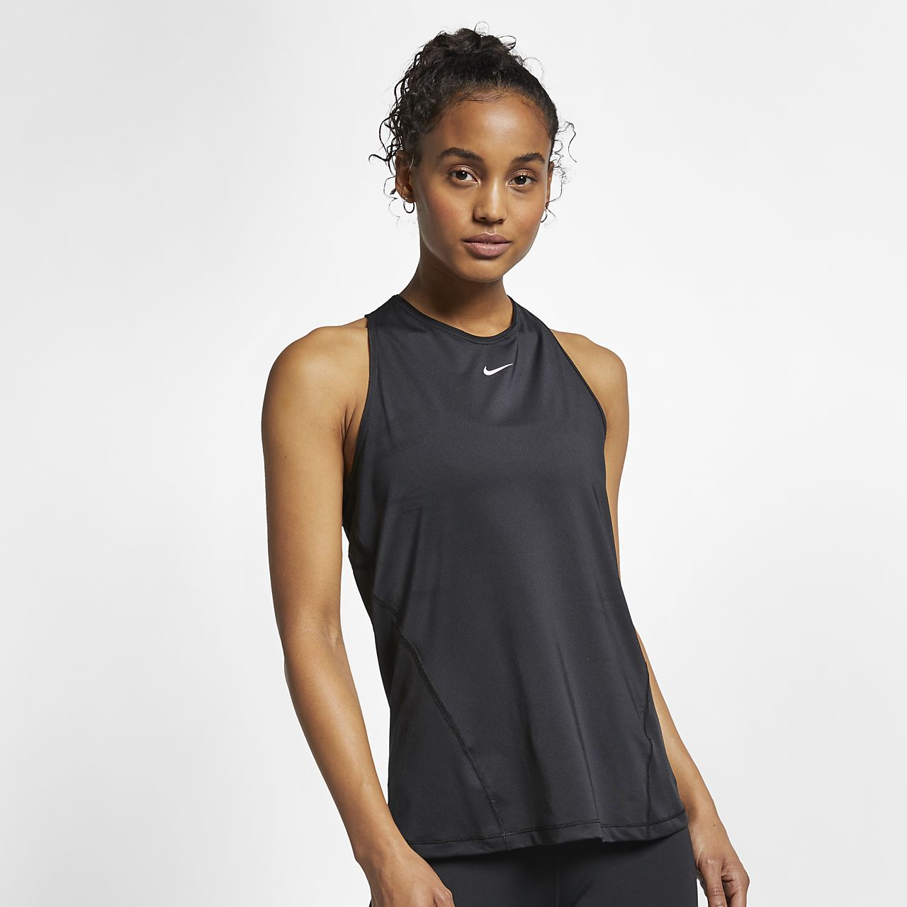 Canotta in mesh Nike Pro - Donna