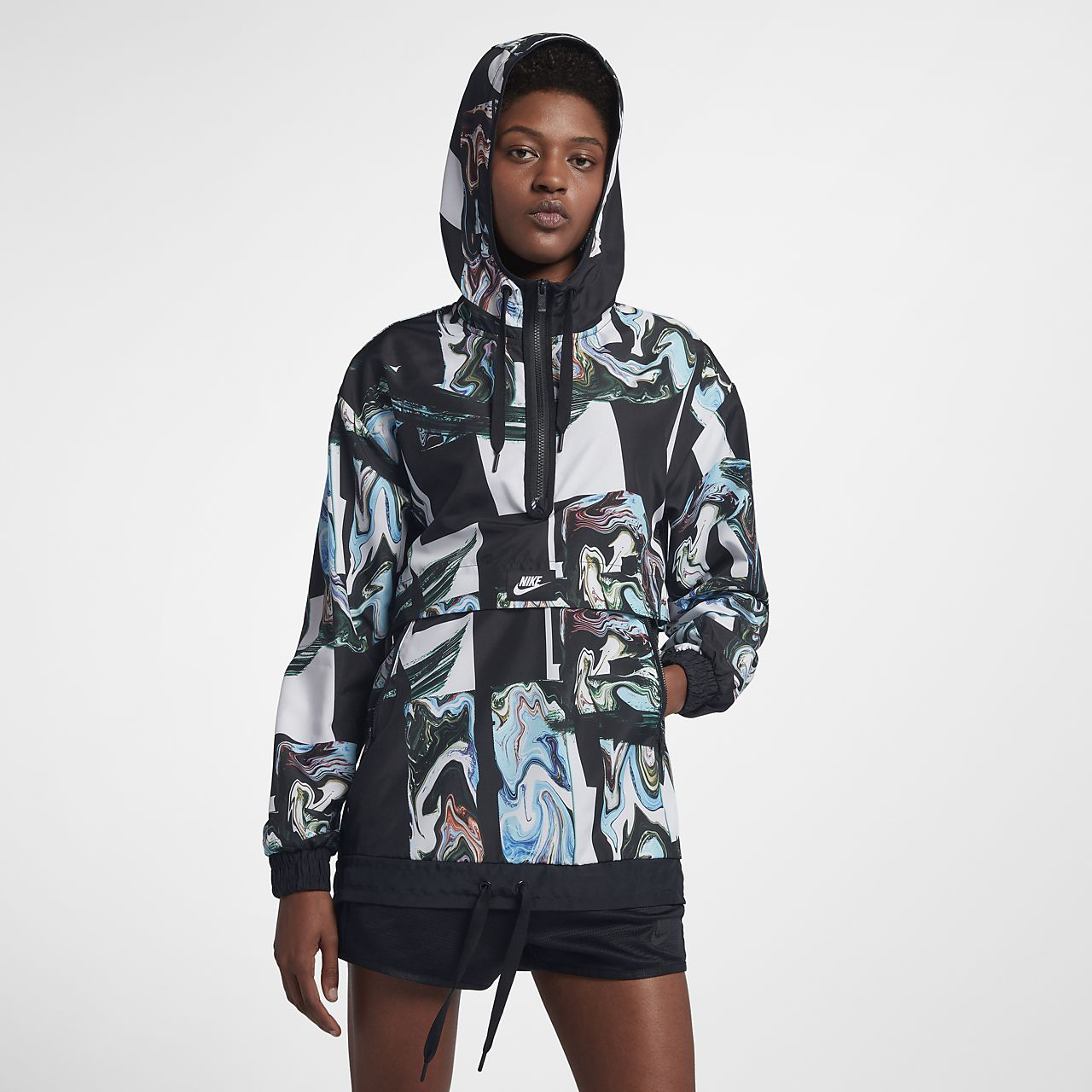 7cc3fad8 Nike Sportswear Women's Printed Jacket. Nike.com MA