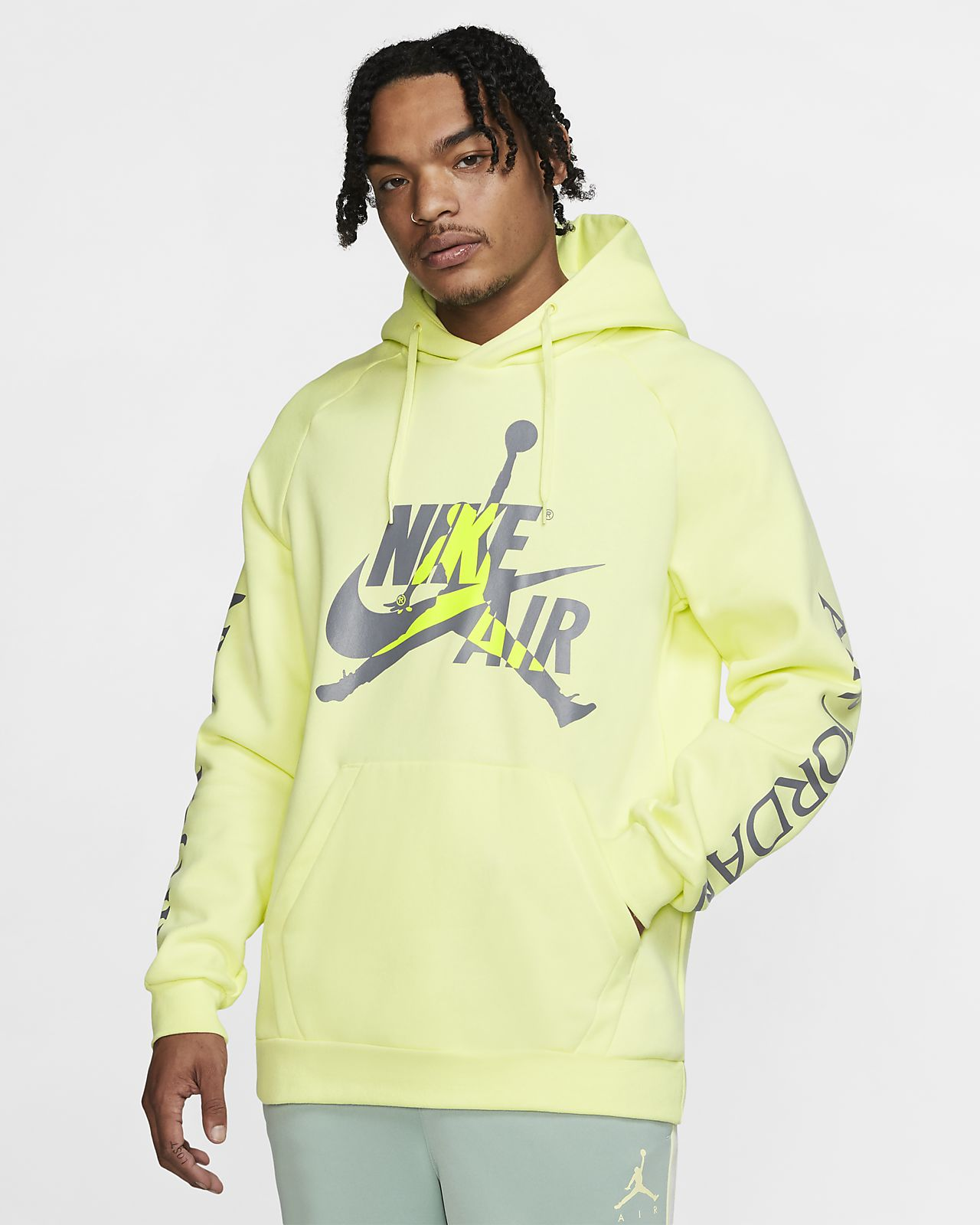 0d3aa50a775e Jordan Jumpman Classics Fleece Pullover Hoodie. Nike.com DK
