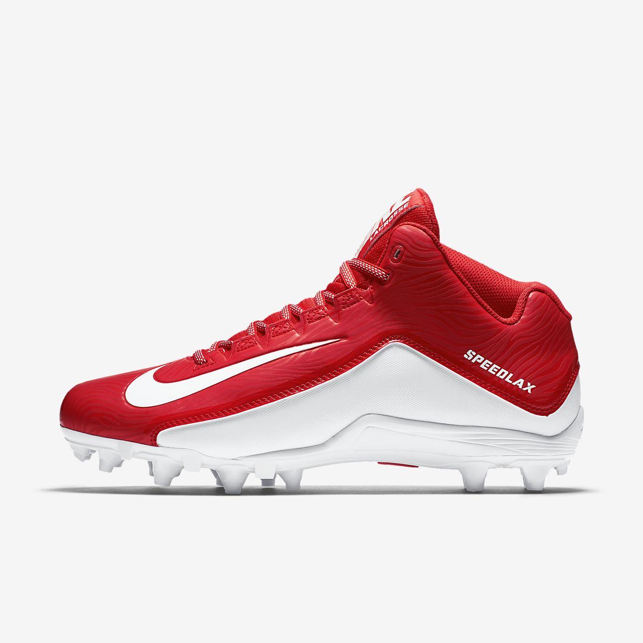 Mens Shoes Nike Speedlax 5 Challenge Red/White/White