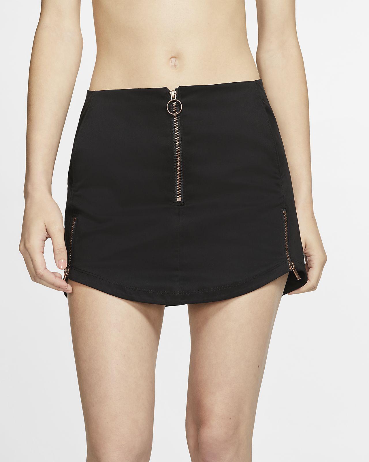 Hurley Sueded Zip Women's Skirt