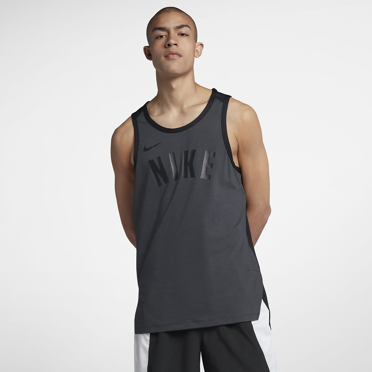 8e49617902f52b Nike Dry Hyper Elite Men s Sleeveless Basketball Top. Nike.com IN